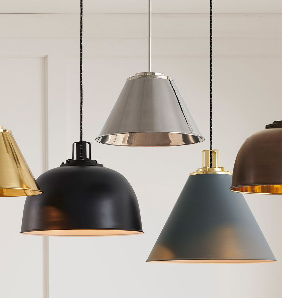 Kitchen And within Nadeau 1-Light Single Cone Pendants