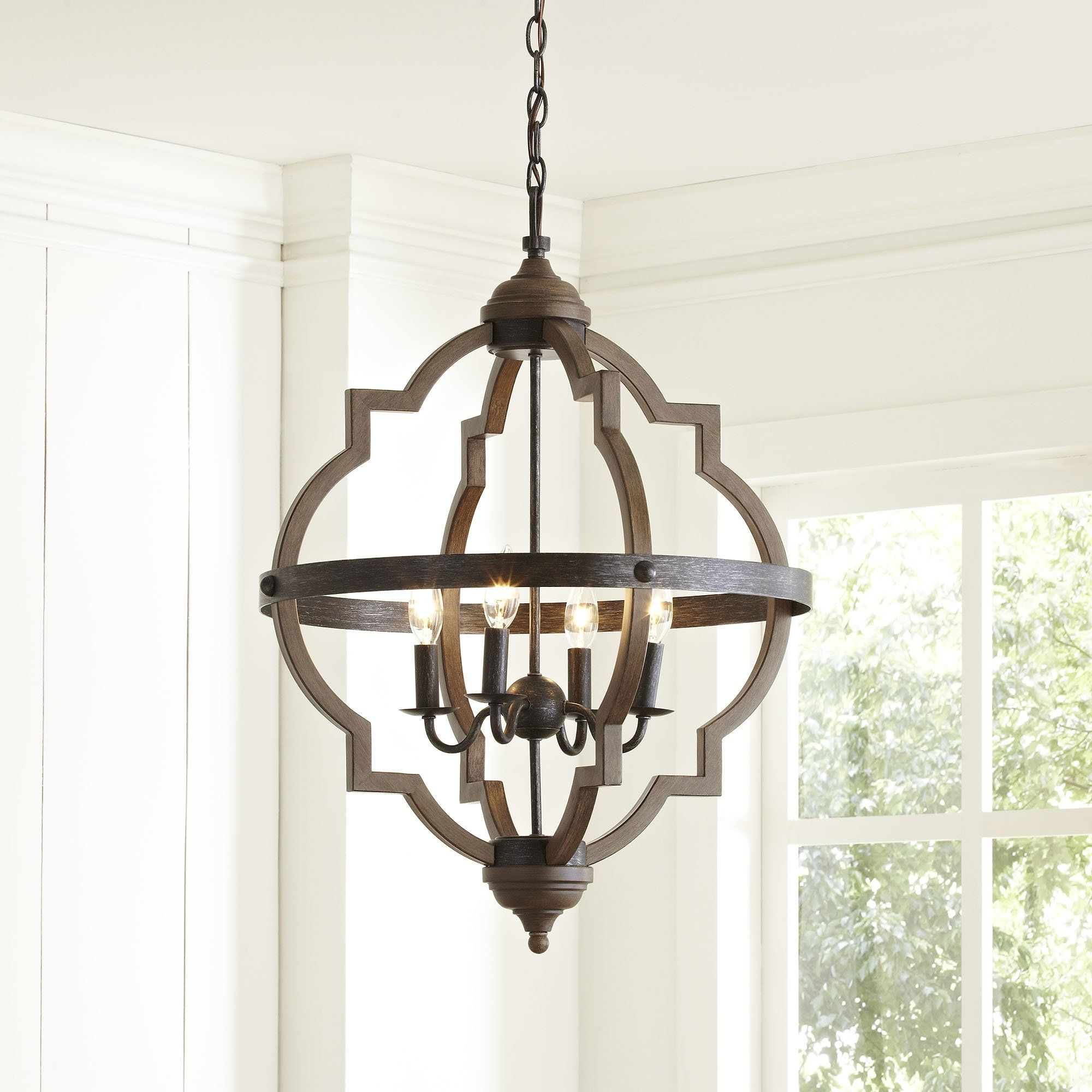 Kitchen & Bath inside Well-liked Bennington 4-Light Candle Style Chandeliers