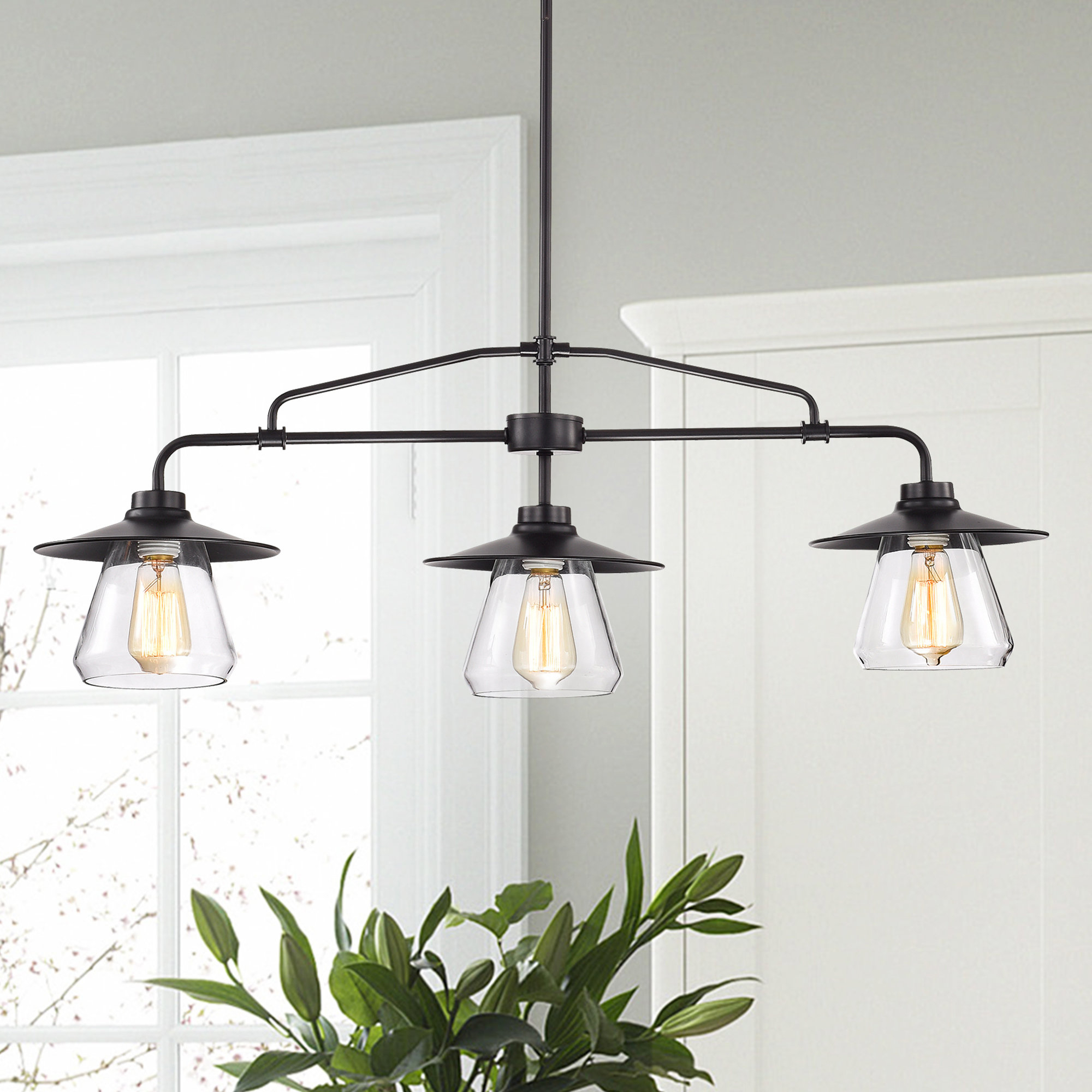 Kitchen Island Pendant Lighting Fixtures – Gnubies Inside Most Up To Date Ariel 2 Light Kitchen Island Dome Pendants (View 12 of 25)