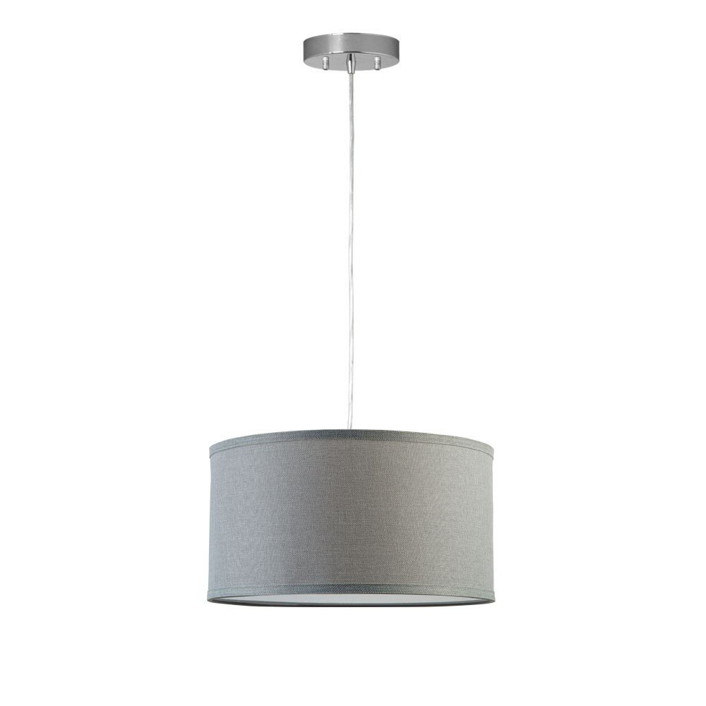 Kluge 1 Light Drum Pendant Regarding Favorite Kasey 3 Light Single Drum Pendants (View 17 of 25)