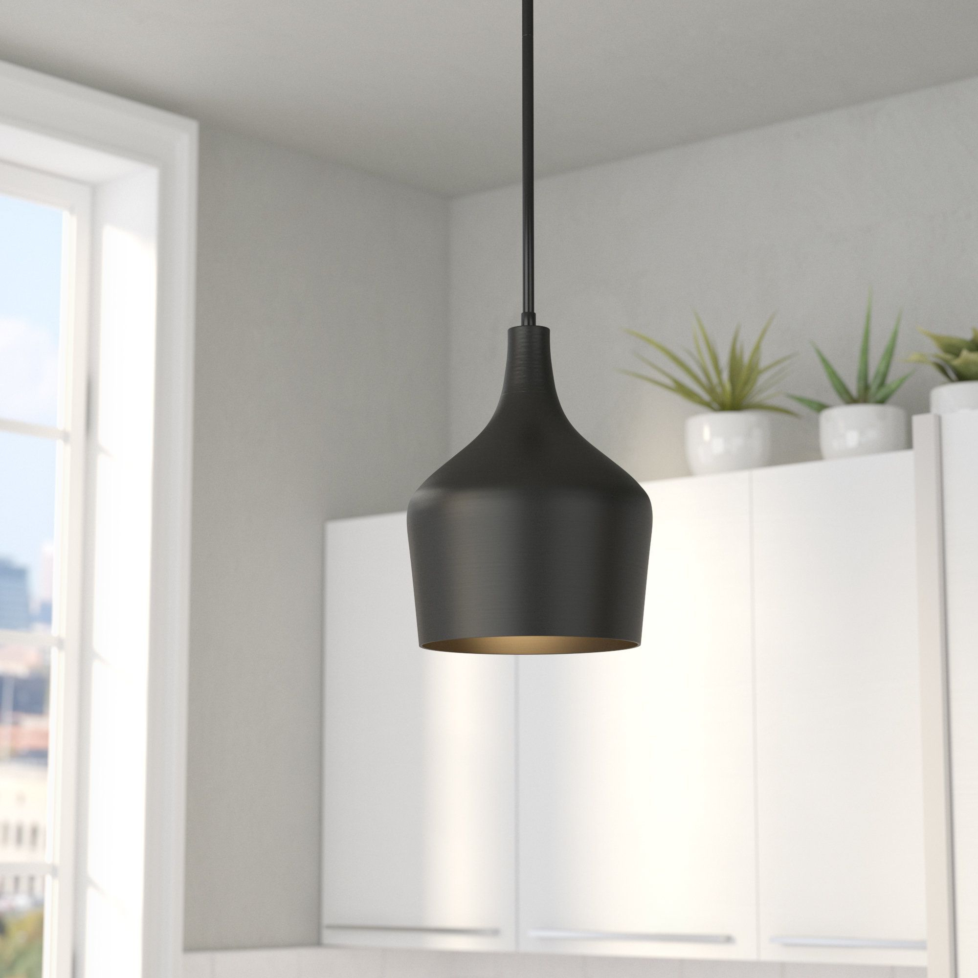 Knoxville 1 Light Single Teardrop Pendants With 2019 Knoxville 1 Light Geometric Pendant (View 10 of 25)