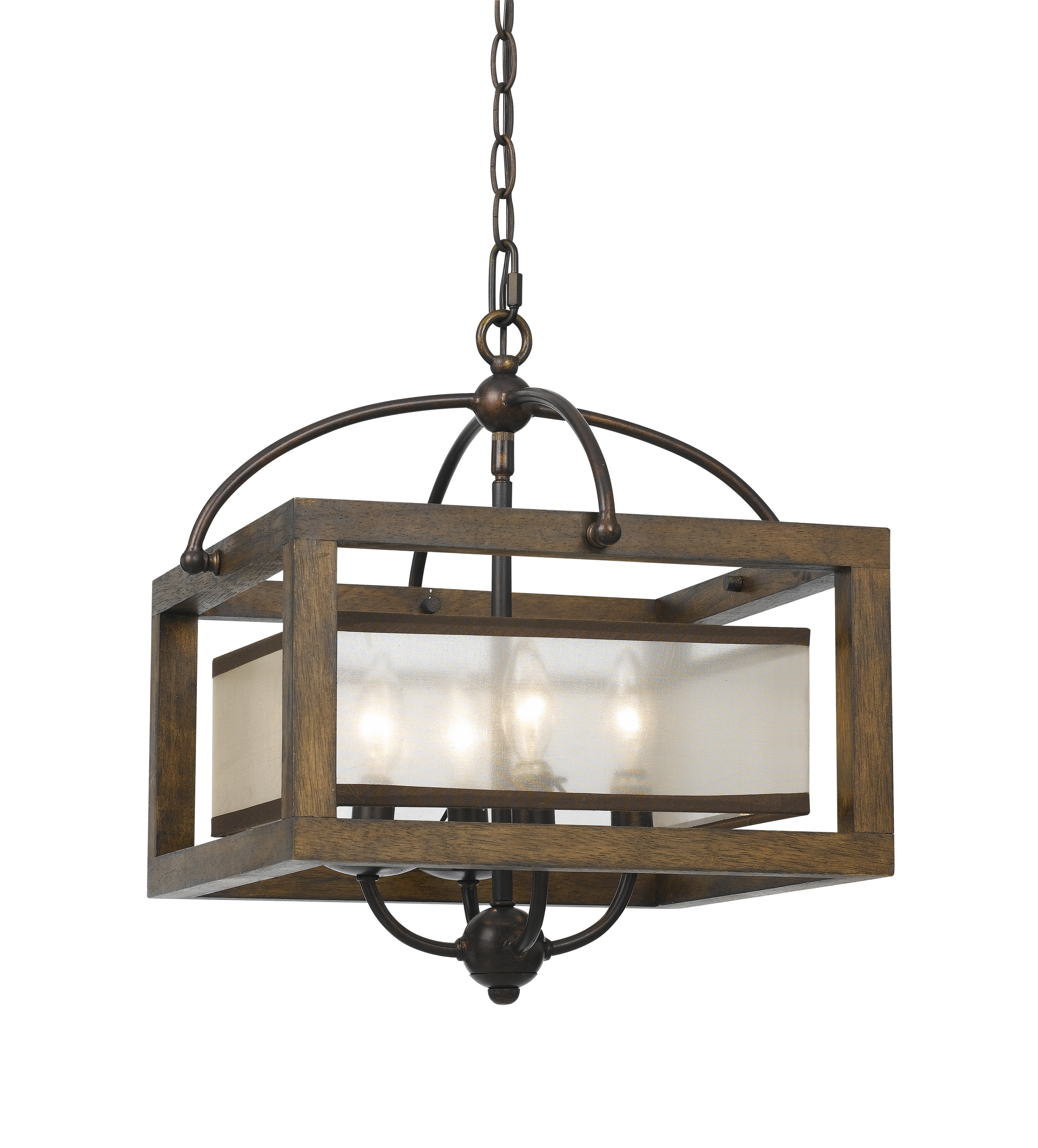 La Sarre 3 Light Globe Chandeliers Within Widely Used Bundoran 4 Light Square/rectangle Chandelier (View 9 of 25)