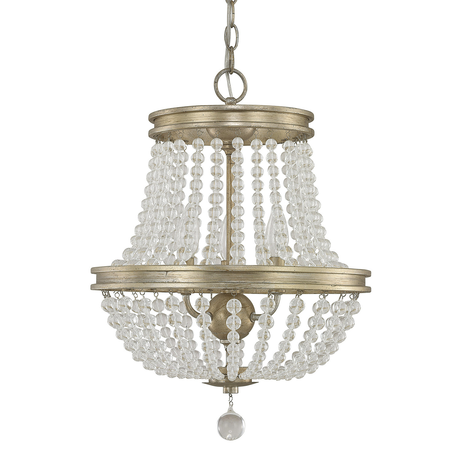 Ladonna 5 Light Novelty Chandeliers For Most Current Allenhurst 3 Light Empire Chandelier (View 22 of 25)