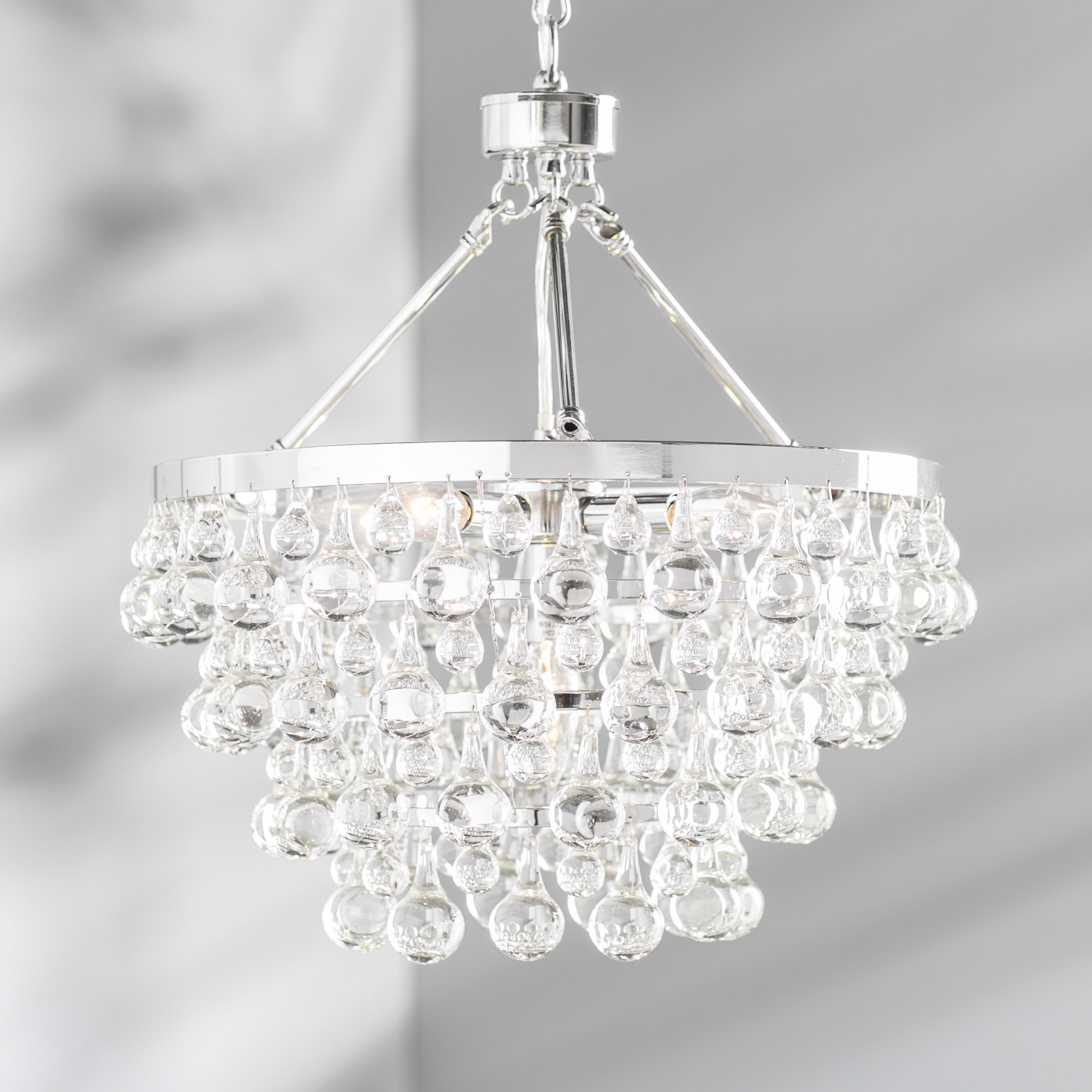 Ladonna 5 Light Novelty Chandeliers Inside Recent Willa Arlo Interiors Ahern 5 Light Crystal Chandelier (View 21 of 25)