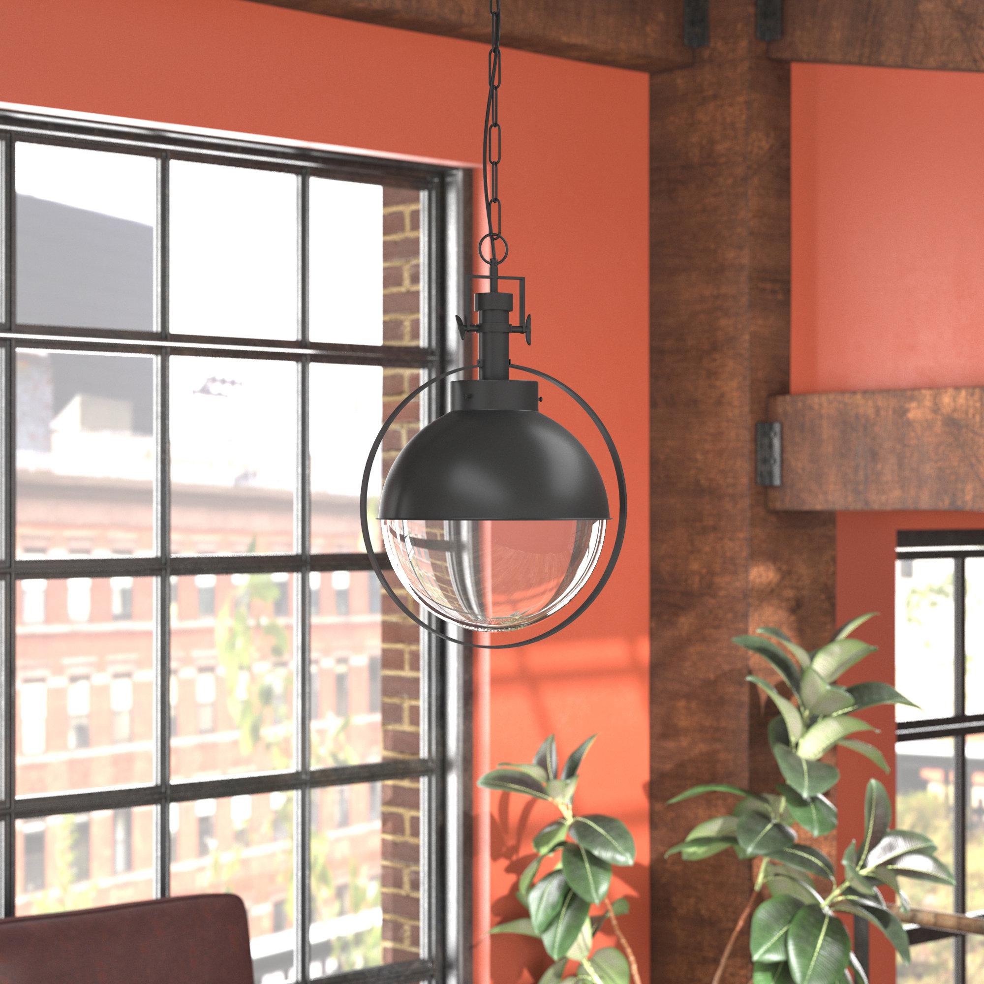 Laraine 1 Light Single Globe Pendant Within Best And Newest Demi 1 Light Globe Pendants (View 17 of 25)