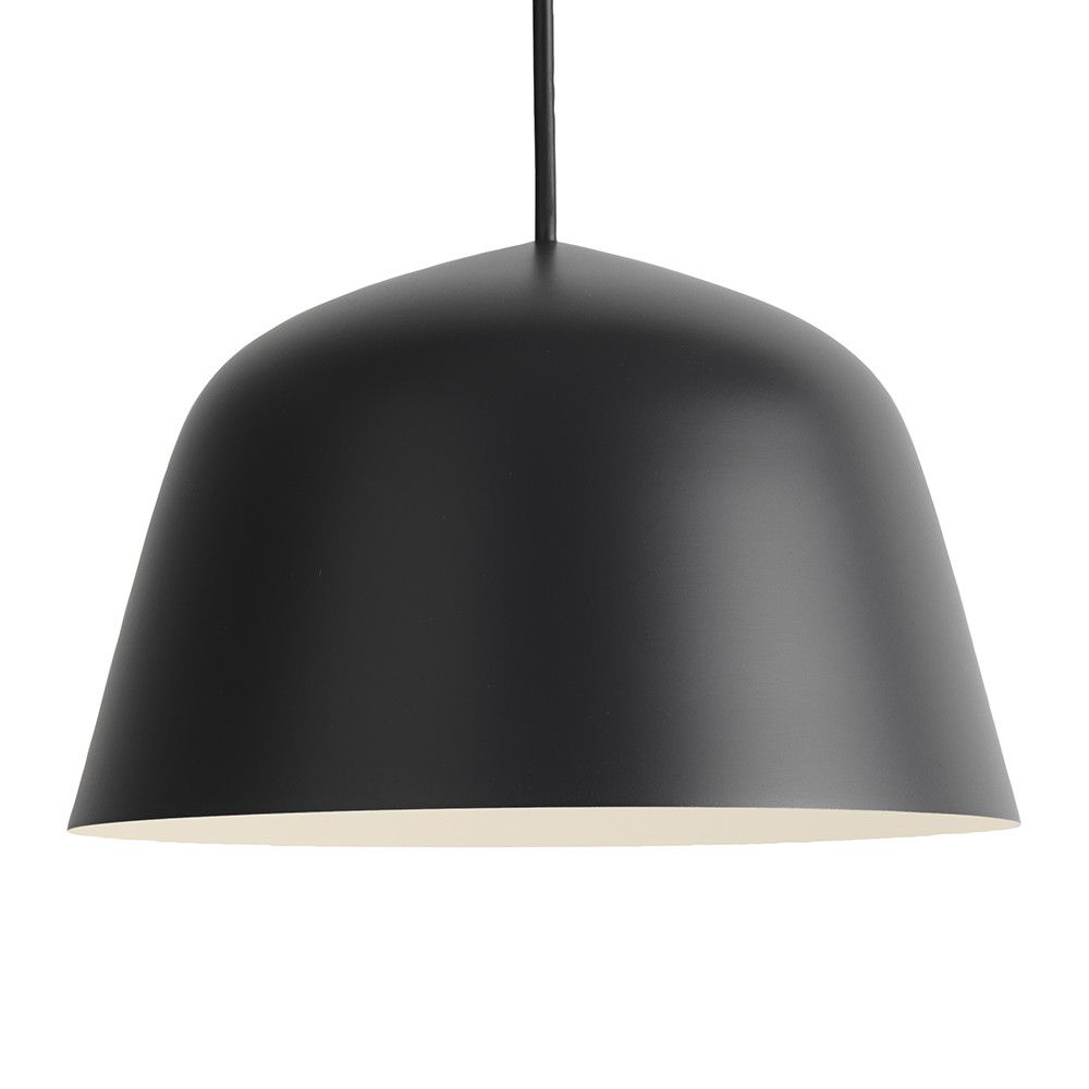 Latest Amara 2 Light Dome Pendants Pertaining To Buy The Ambit Pendant Lamp – Black – Small From Muuto At (View 14 of 25)