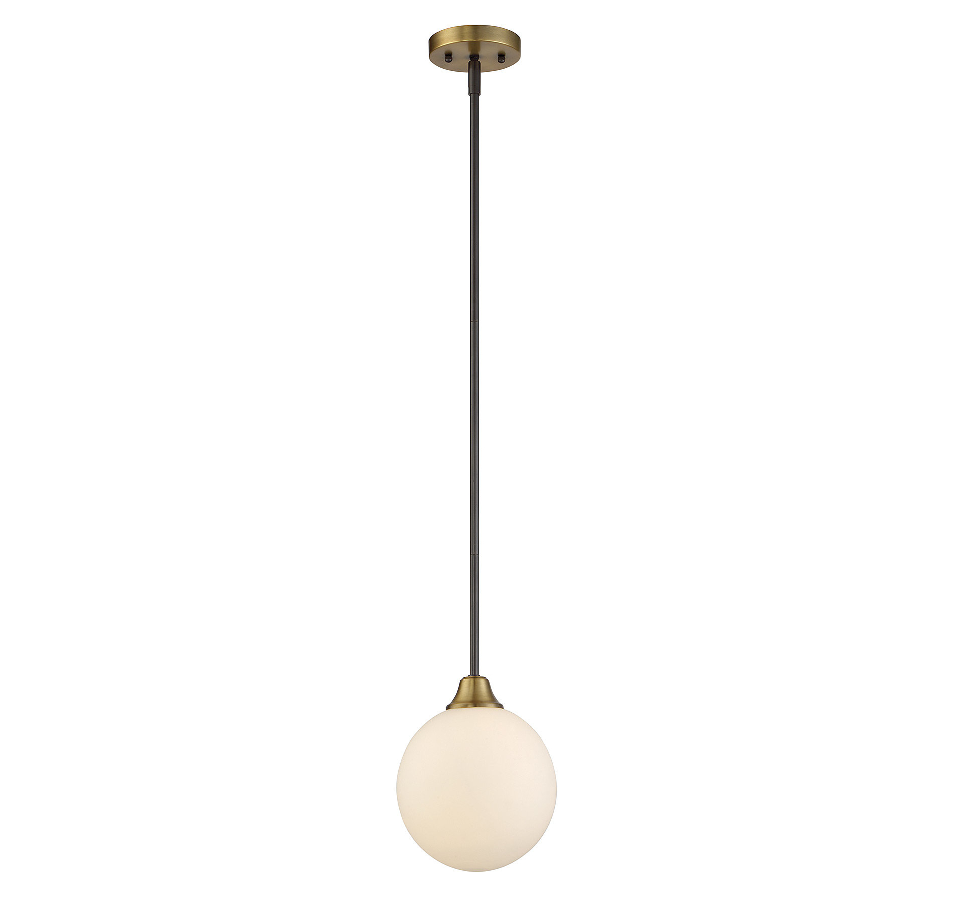 Featured Photo of Bautista 1 Light Single Globe Pendants