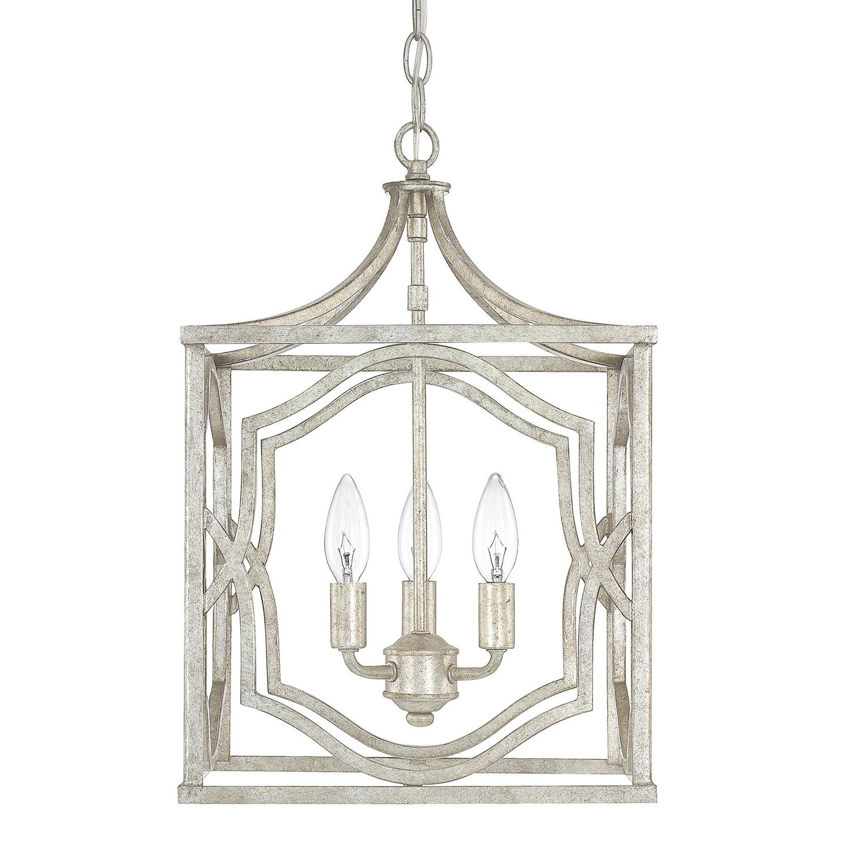 Latest Destrey 3-Light Lantern Square/rectangle Pendant with Destrey 3-Light Lantern Square/rectangle Pendants