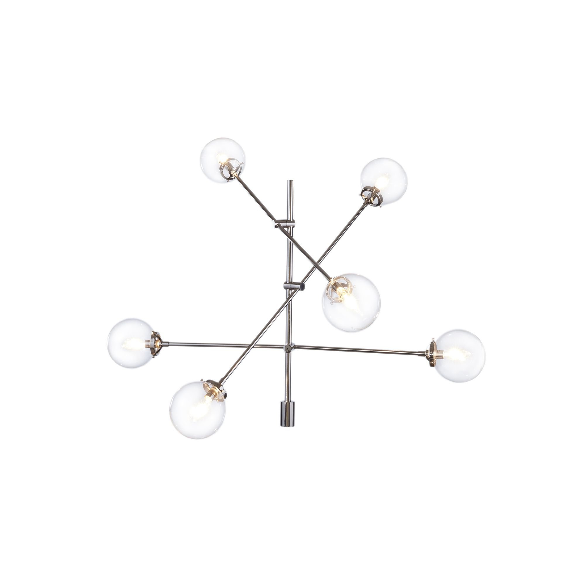 Latest Eladia 6 Light Sputnik Chandeliers Intended For Langley Street Bensley Antique 6 Light Sputnik Chandelier (View 21 of 25)