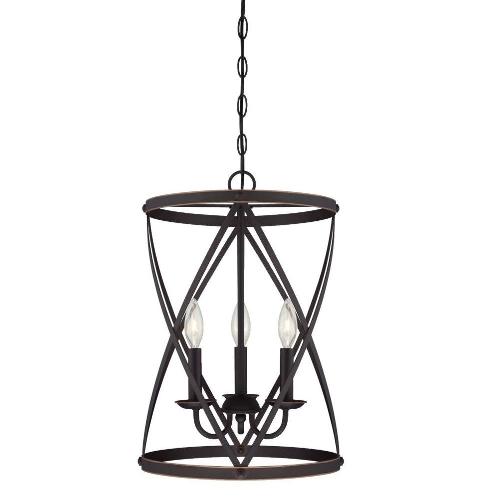 Latest Gingerich 3 Light Lantern Pendant In Van Horne 3 Light Single Teardrop Pendants (View 19 of 25)