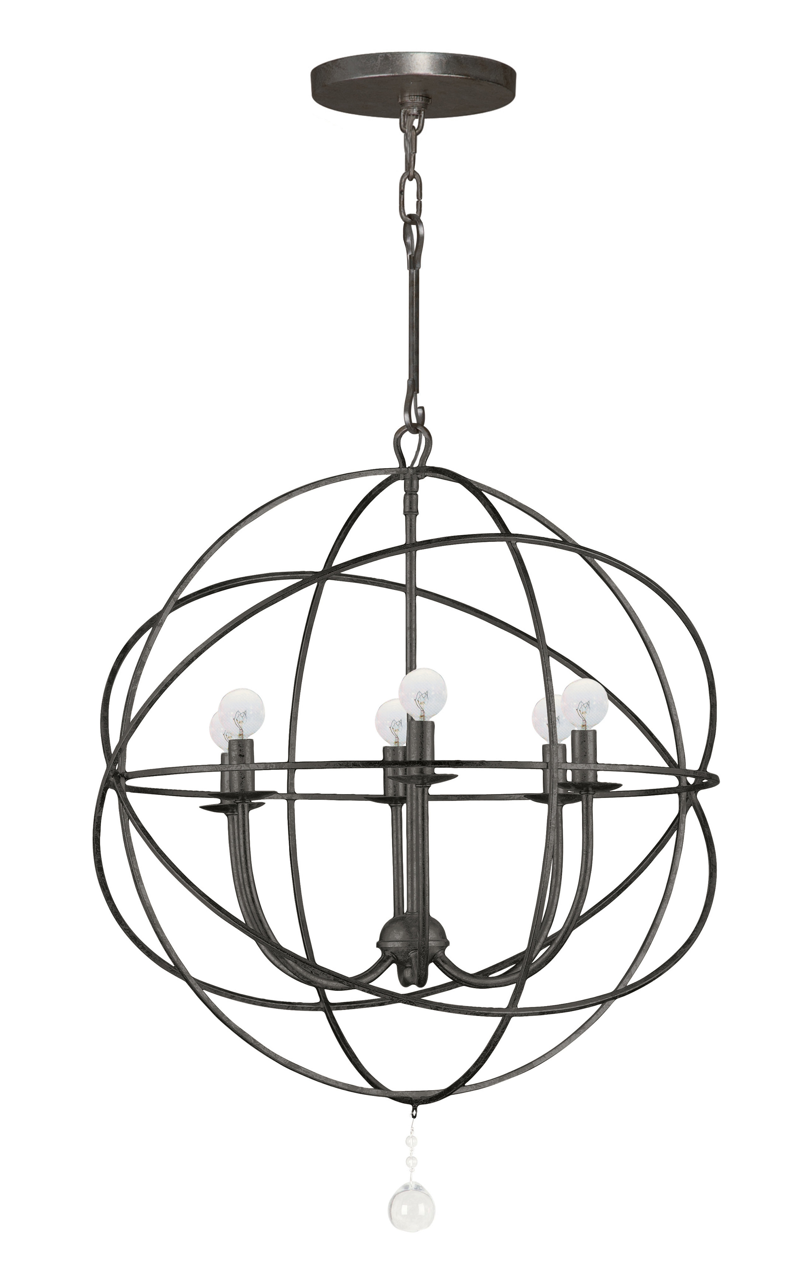 Latest Gregoire 6 Light Globe Chandeliers For Gregoire 6 Light Globe Chandelier (View 4 of 25)
