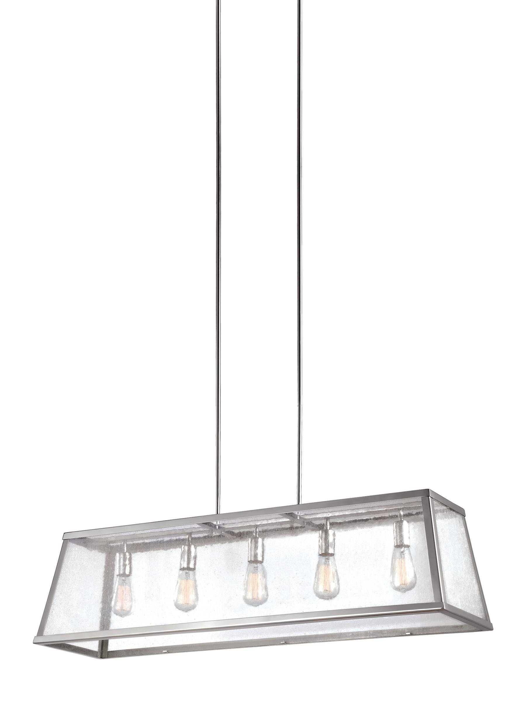 Latest Hinerman 5 Light Kitchen Island Pendants Pertaining To Marlowe 5 Light Kitchen Island Linear Pendant (View 12 of 25)