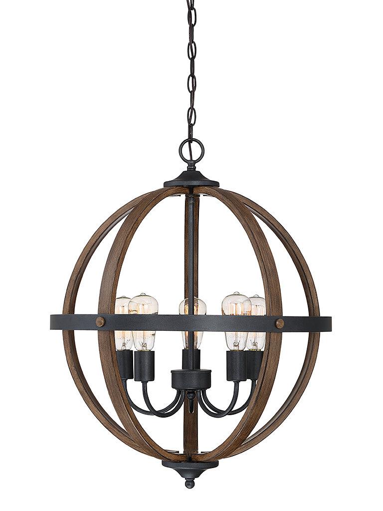 Latest Makeba 5 Light Globe Chandelier Pertaining To Donna 6 Light Globe Chandeliers (View 25 of 25)