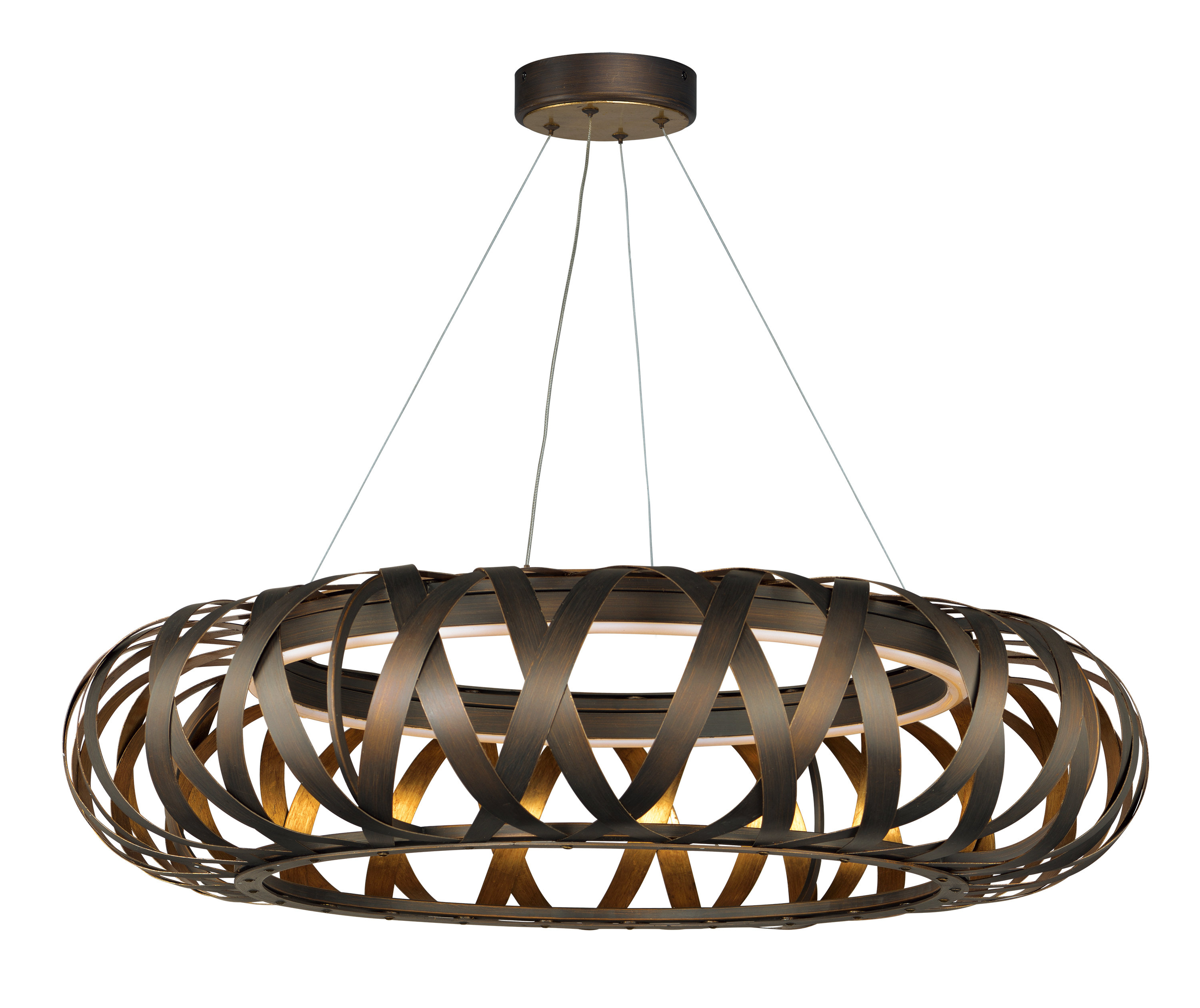 Latest Melora 1 Light Single Geometric Pendants Inside Deskins Entry 1 Light Led Geometric Pendant (View 10 of 25)