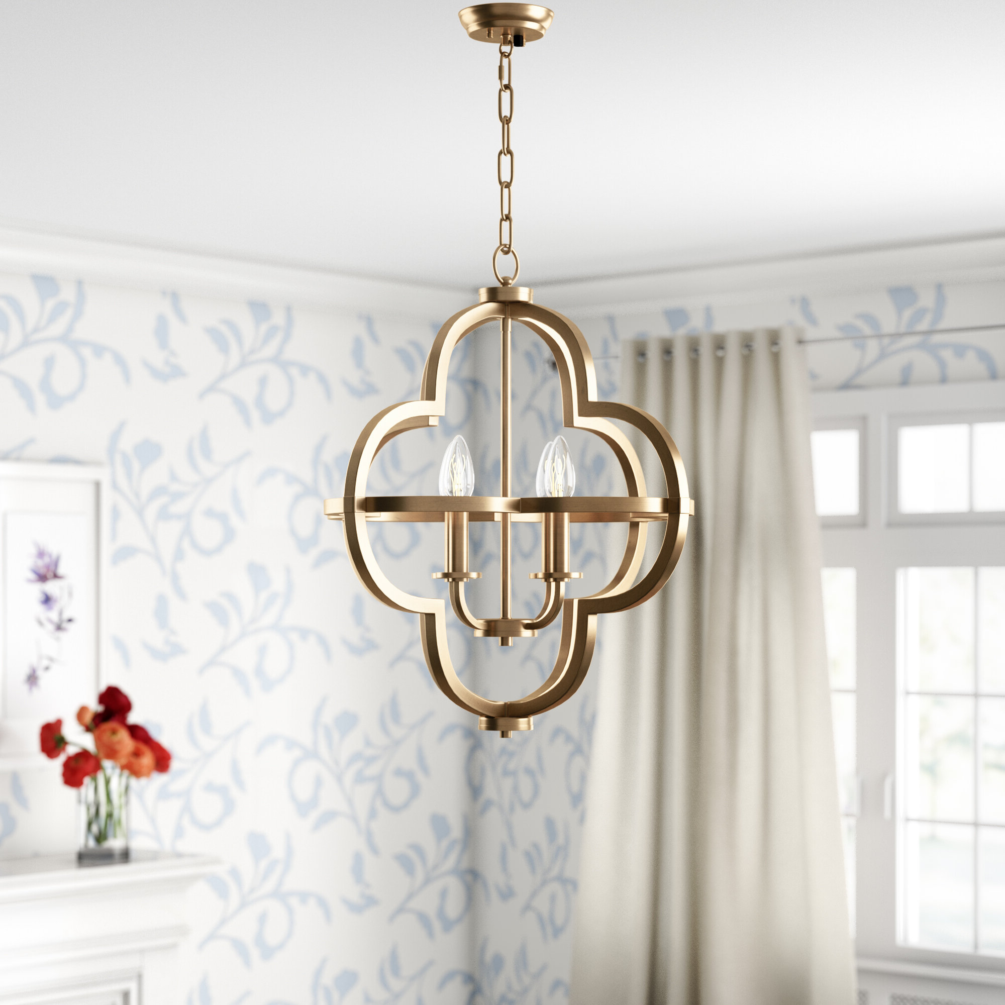 Latest Middleton 4 Light Single Geometric Pendant Regarding Reidar 4 Light Geometric Chandeliers (View 7 of 25)