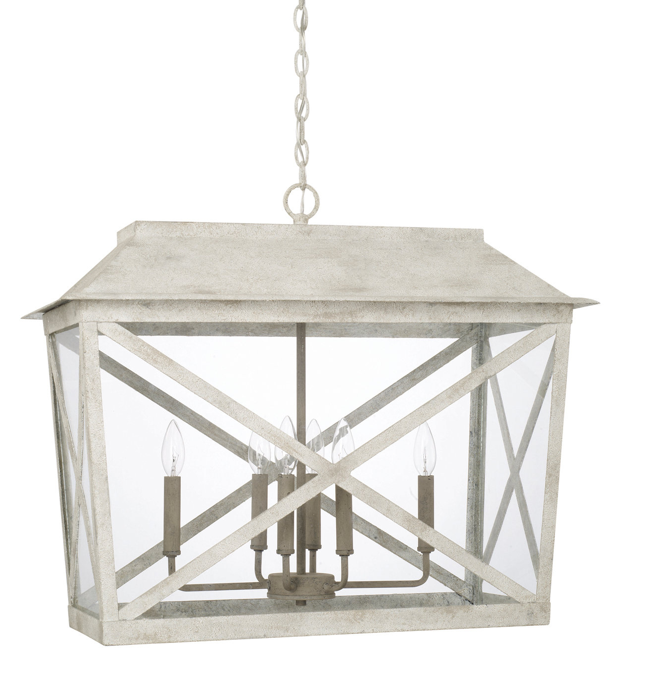 Latest One Allium Way Isabelle 6 Light Lantern Pendant (View 13 of 25)