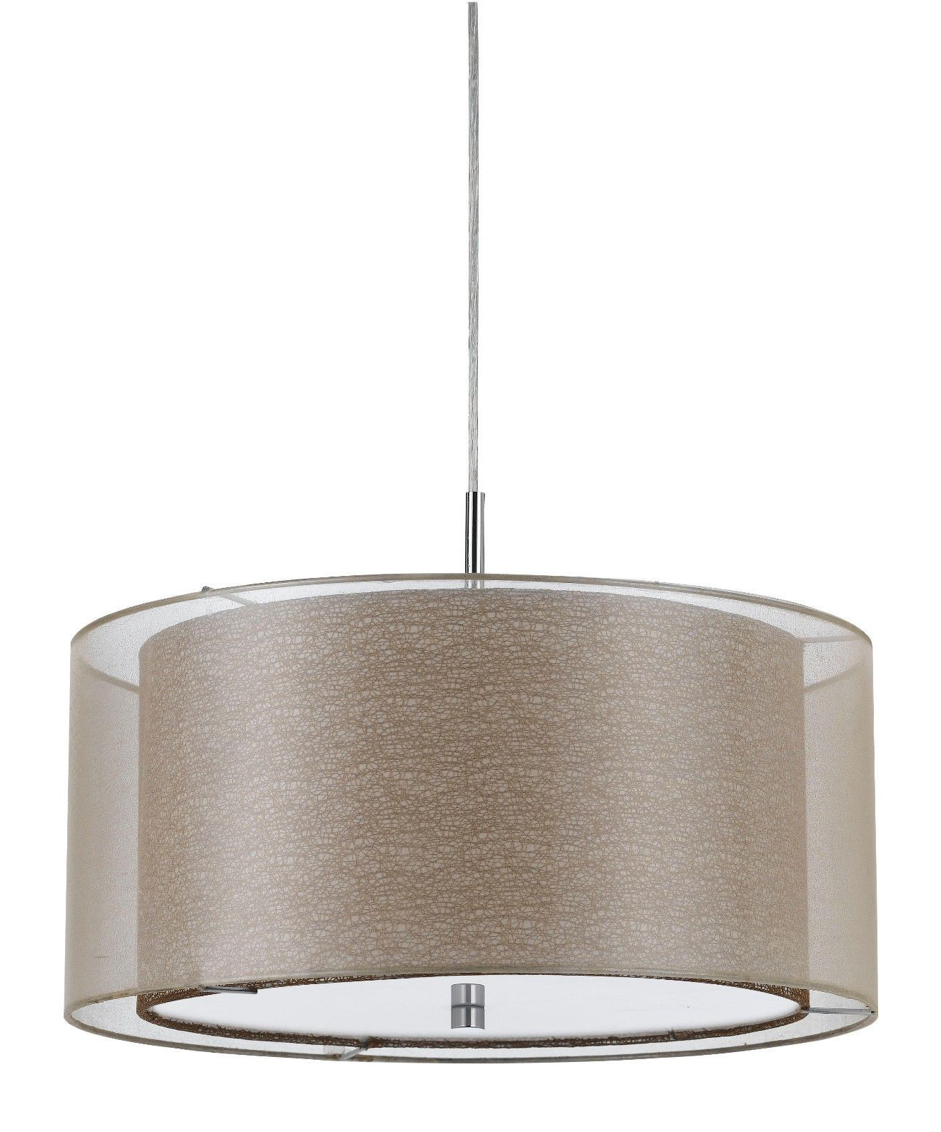 Latest Pin On Drum Pendant Lights Within Radtke 3 Light Single Drum Pendants (View 8 of 25)
