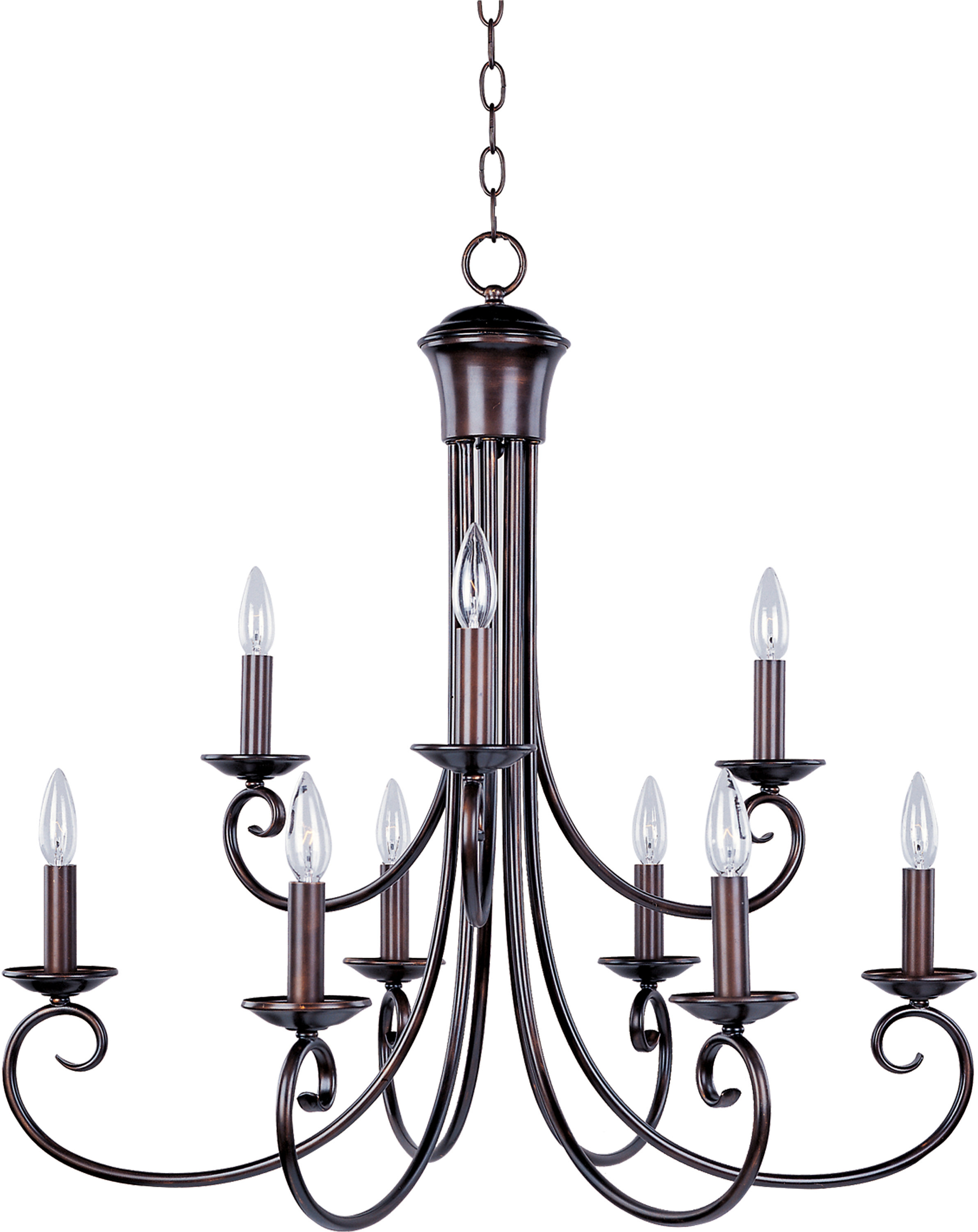 Latest Watford 9 Light Candle Style Chandeliers With Charlton Home Kenedy 9 Light Candle Style Chandelier (View 8 of 25)