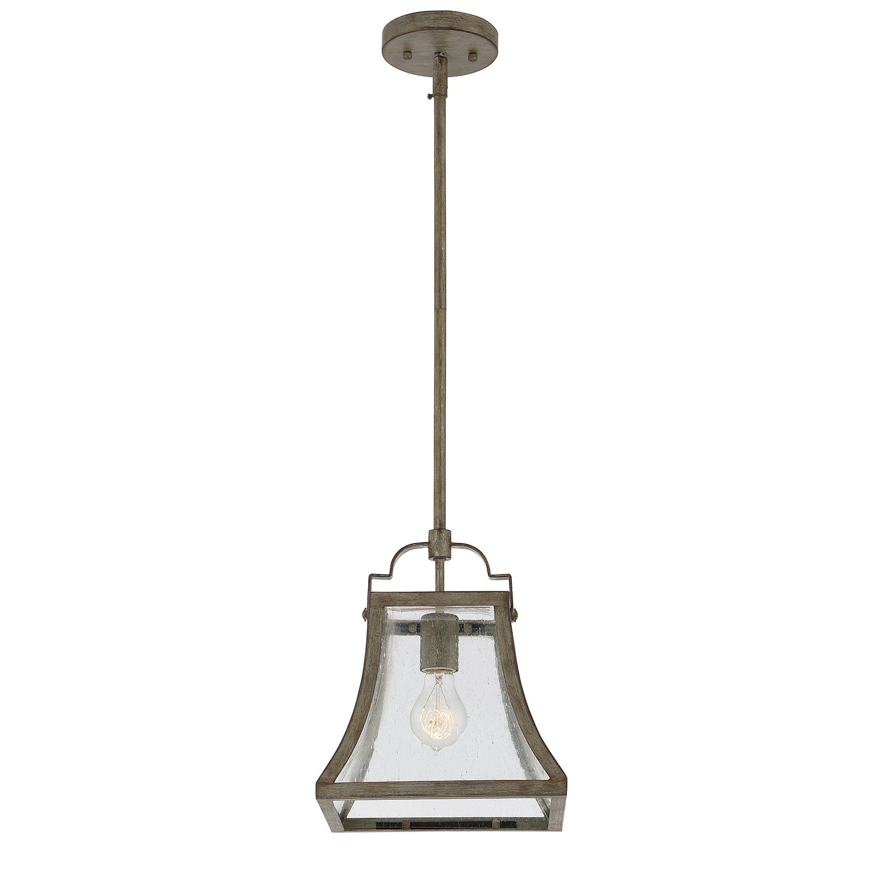 Laurel Foundry Modern Farmhouse Montvert 1 Light Lantern Geometric Pendant For Newest Louanne 1 Light Lantern Geometric Pendants (View 16 of 25)