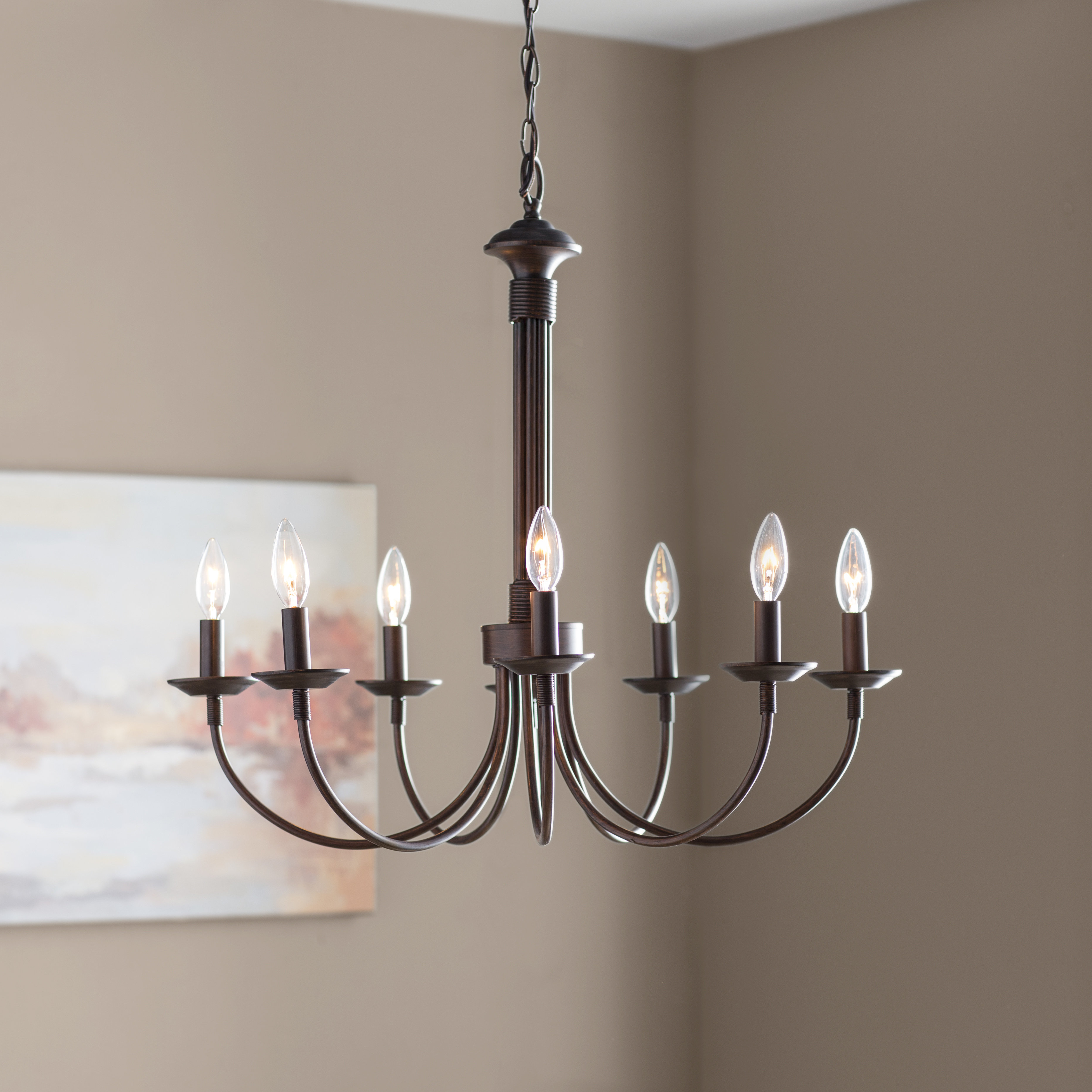Laurel Foundry Modern Farmhouse Shaylee 8 Light Candle Style Chandelier Within 2019 Kenedy 9 Light Candle Style Chandeliers (View 14 of 25)