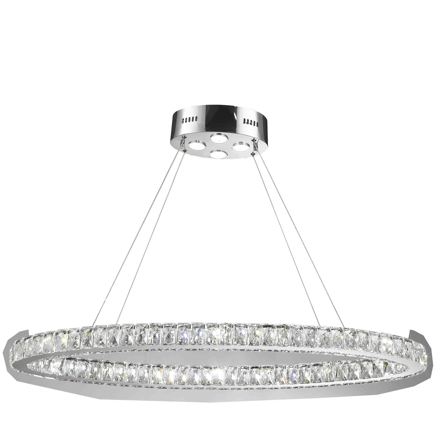 Leiter 20 Light Led Crystal Chandelier Within Preferred Duron 5 Light Empire Chandeliers (View 17 of 25)