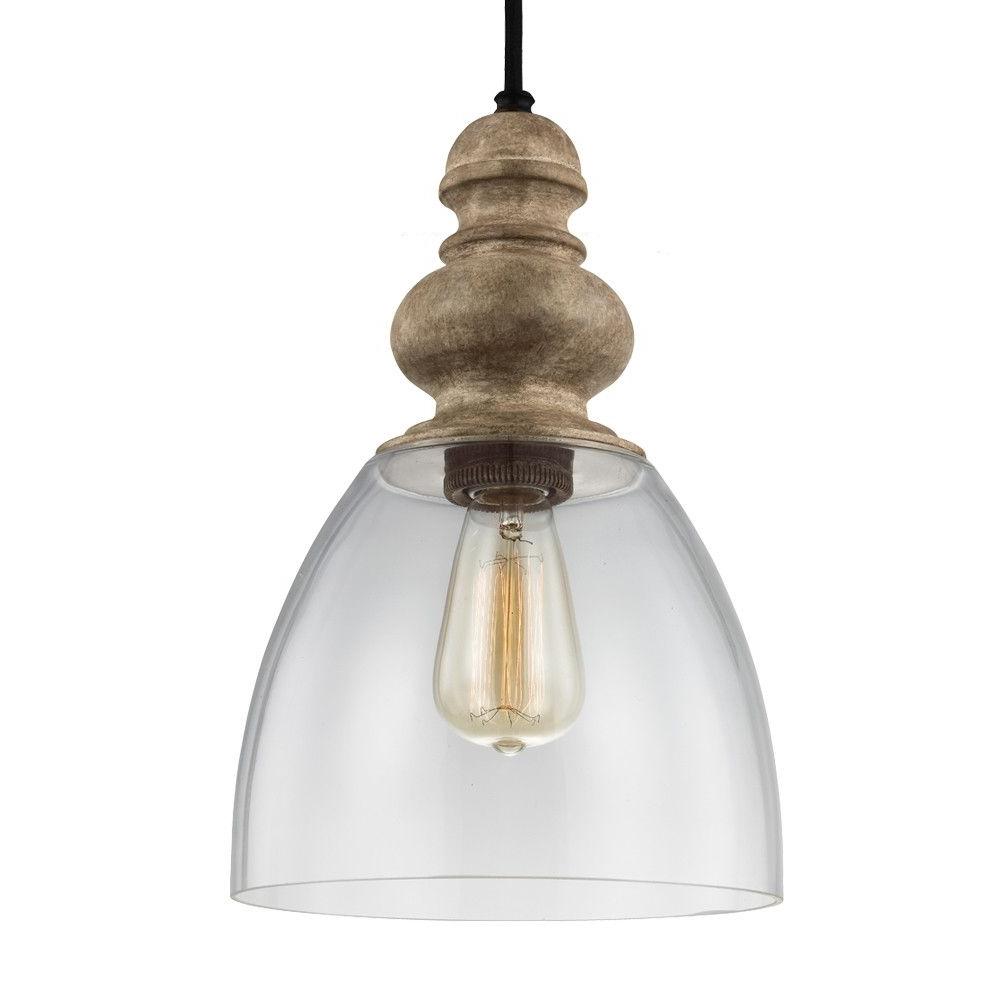 Lemelle 1 Light Single Bell Pendant (View 13 of 25)