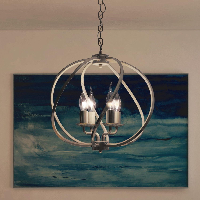 Lighting, Led Inside Hendry 4 Light Globe Chandeliers (View 25 of 25)