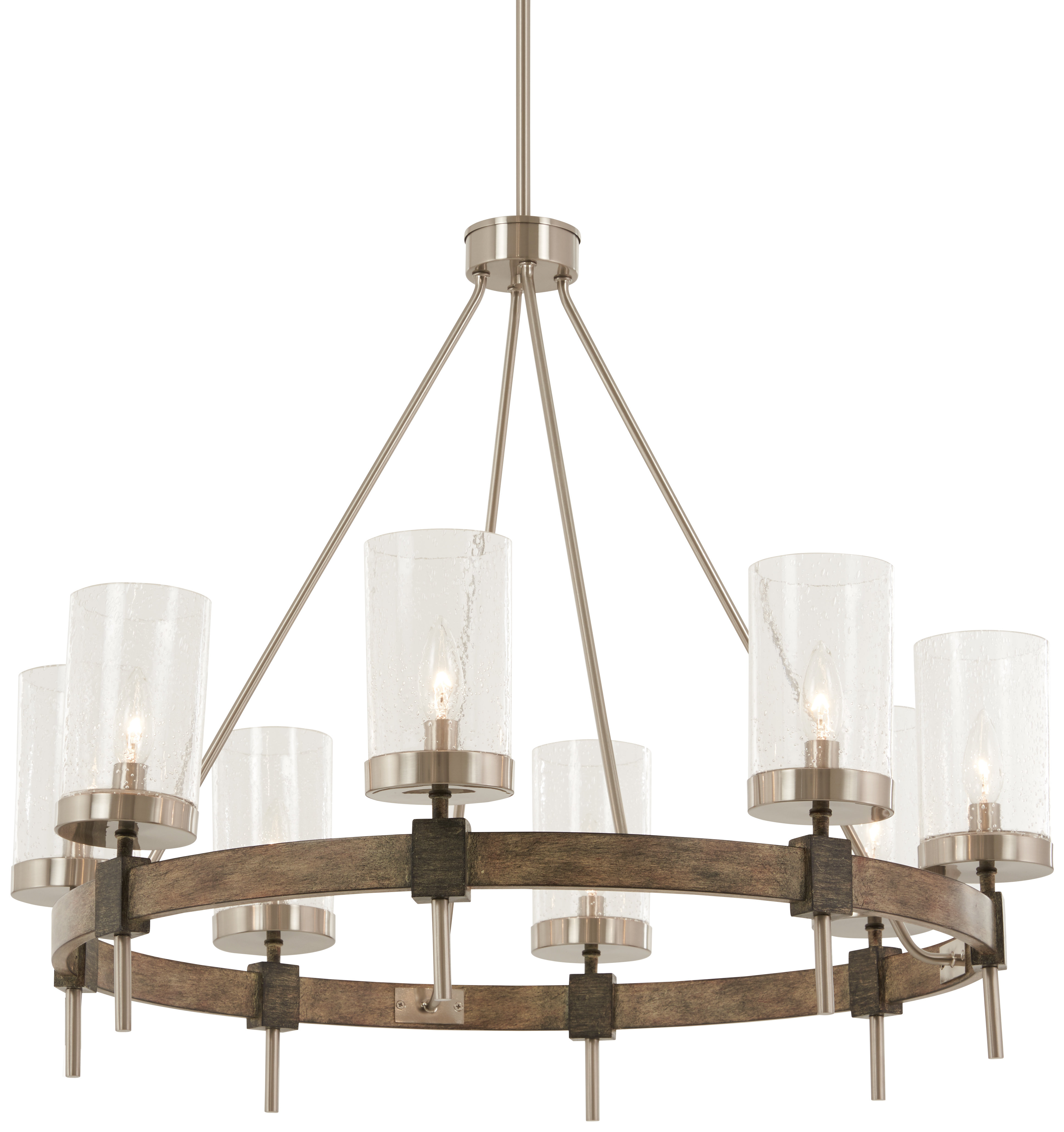 Liska 8 Light Candle Style Chandelier For Trendy Shaylee 8 Light Candle Style Chandeliers (View 9 of 25)