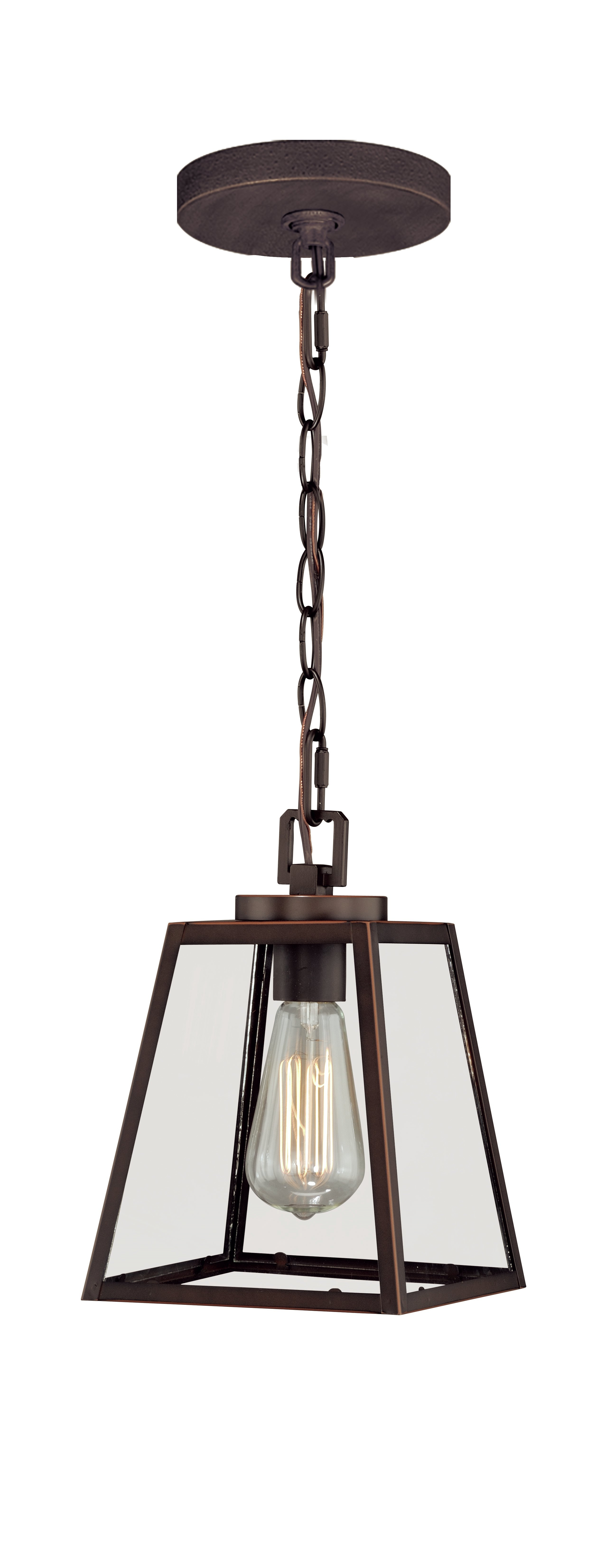 Featured Photo of Louanne 1 Light Lantern Geometric Pendants