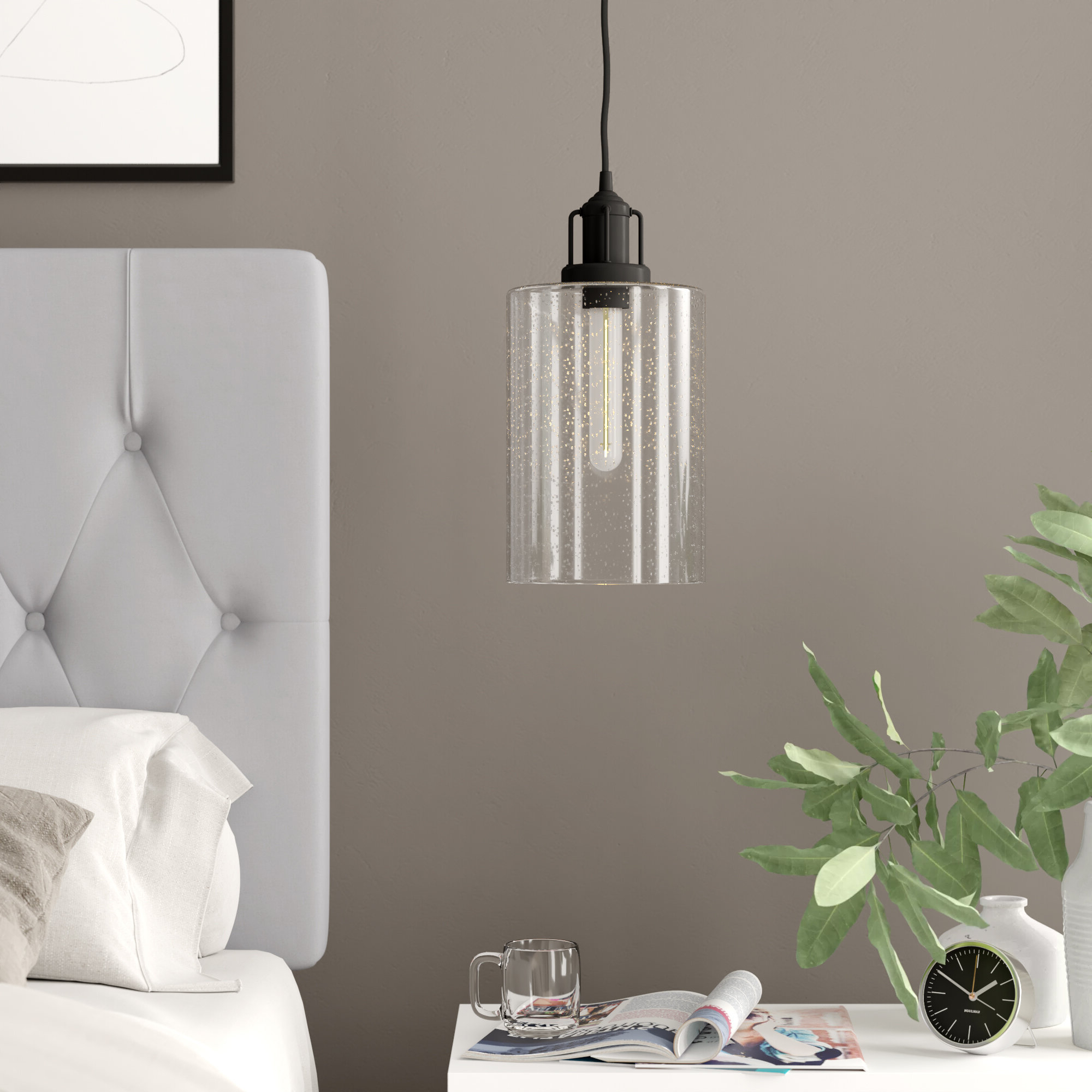 Lunenburg 1 Light Single Cylinder Pendant Throughout 2020 Angelina 1 Light Single Cylinder Pendants (View 12 of 25)