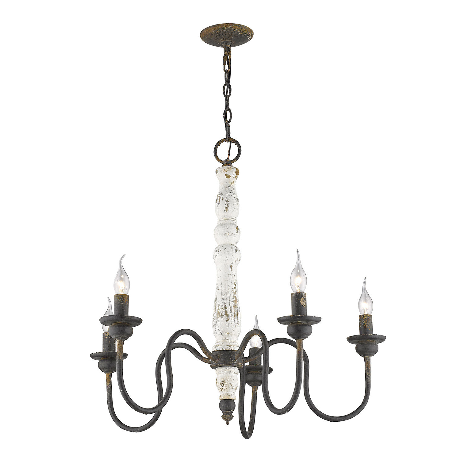 Lynette 5 Light Candle Style Chandelier With Regard To Well Known Shaylee 5 Light Candle Style Chandeliers (View 8 of 25)
