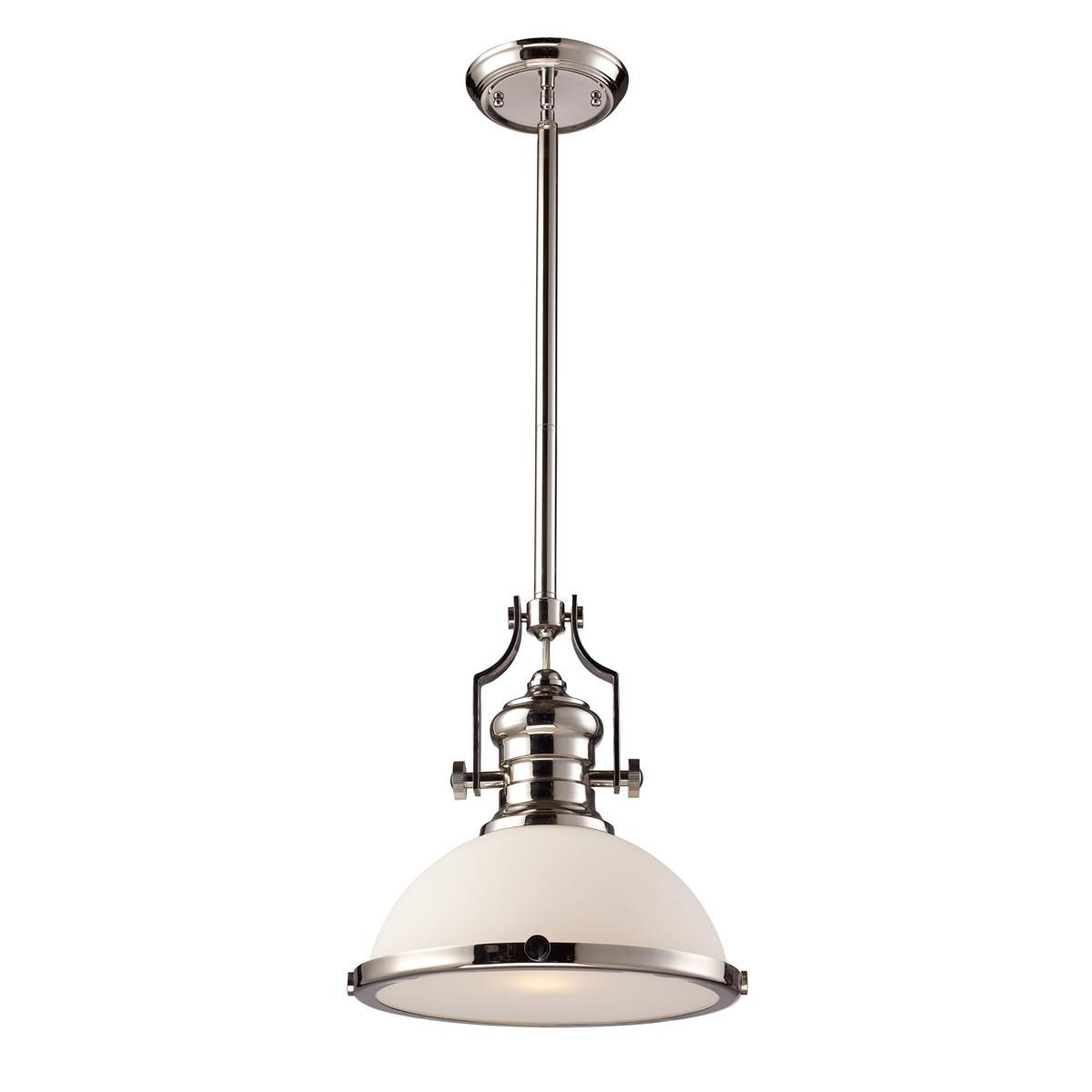 Macon 1 Light Single Dome Pendants Pertaining To Well Known Craftsman Period Pendant – Glass Shade (View 12 of 25)