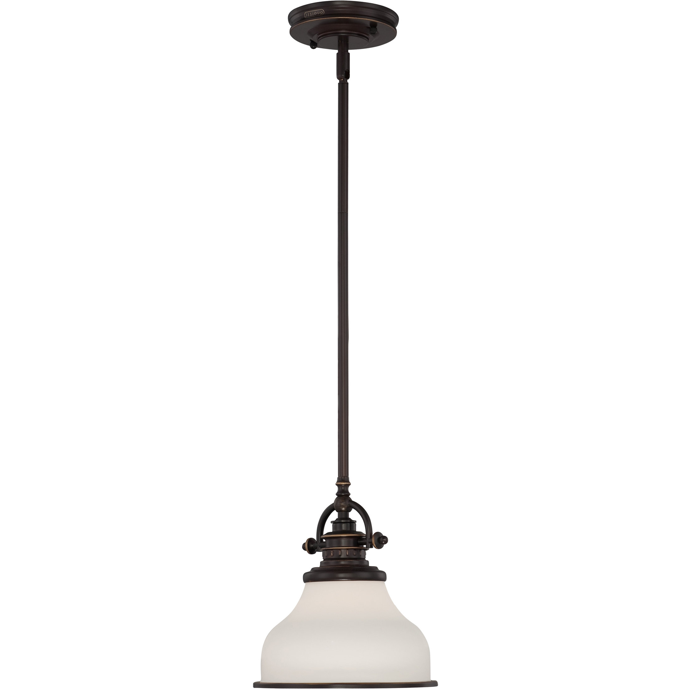 Featured Photo of Macon 1 Light Single Dome Pendants