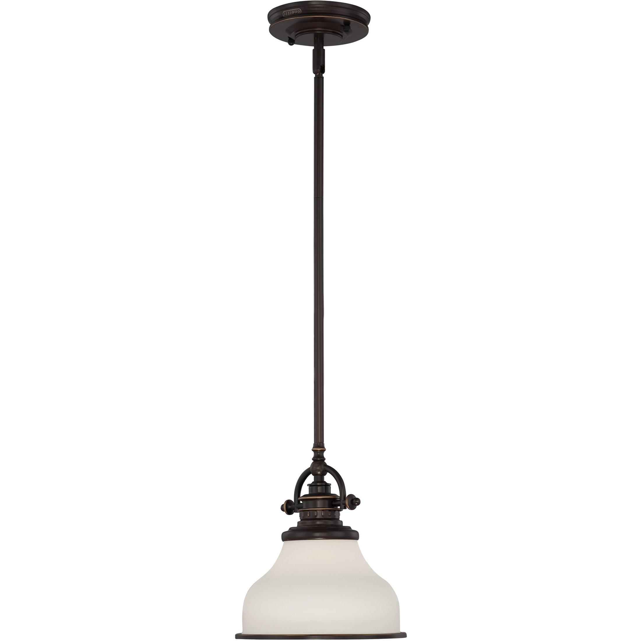Featured Photo of Macon 1 Light Single Dome Pendants