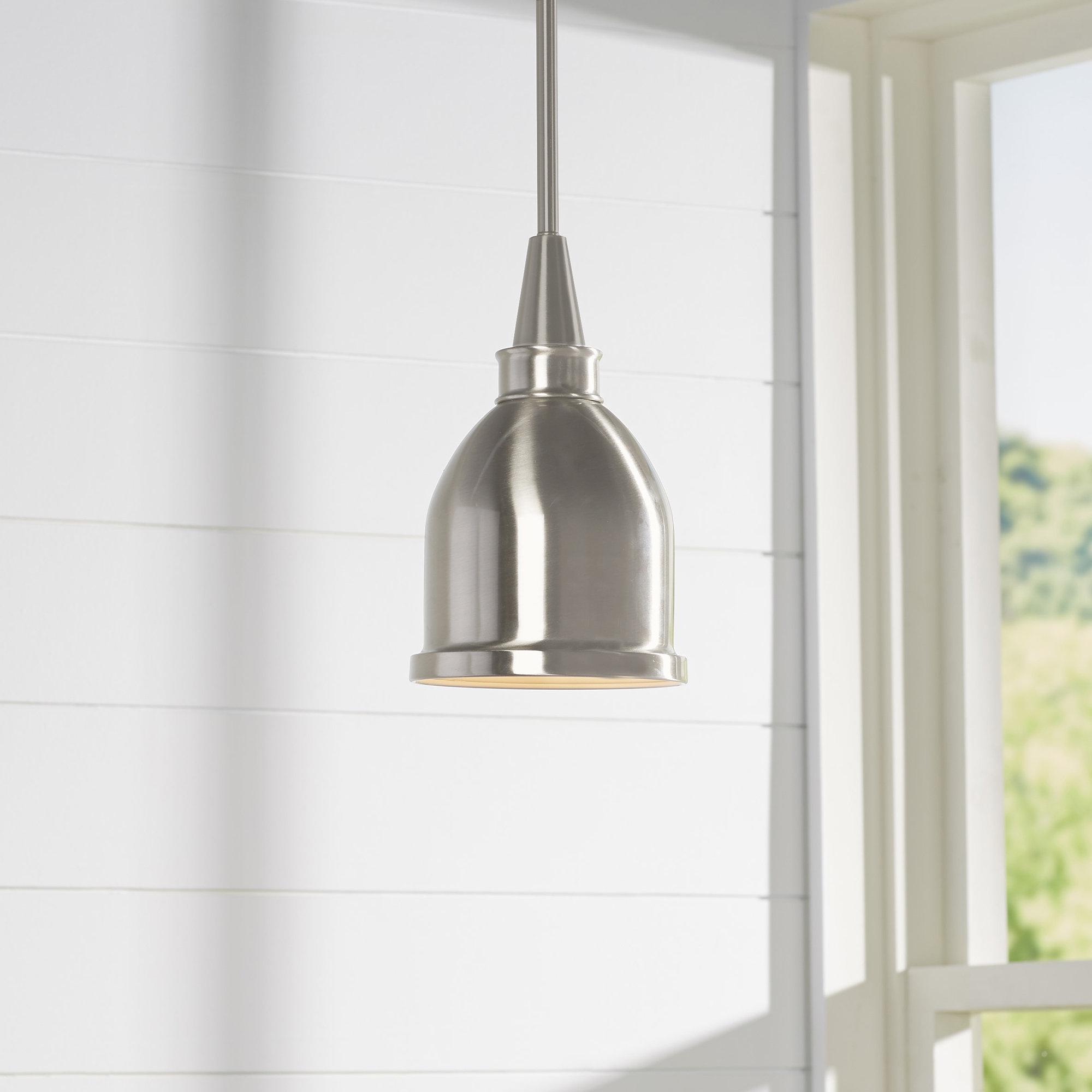 Manston 1 Light Single Bell Pendant Throughout 2020 Hamilton 1 Light Single Dome Pendants (View 16 of 25)