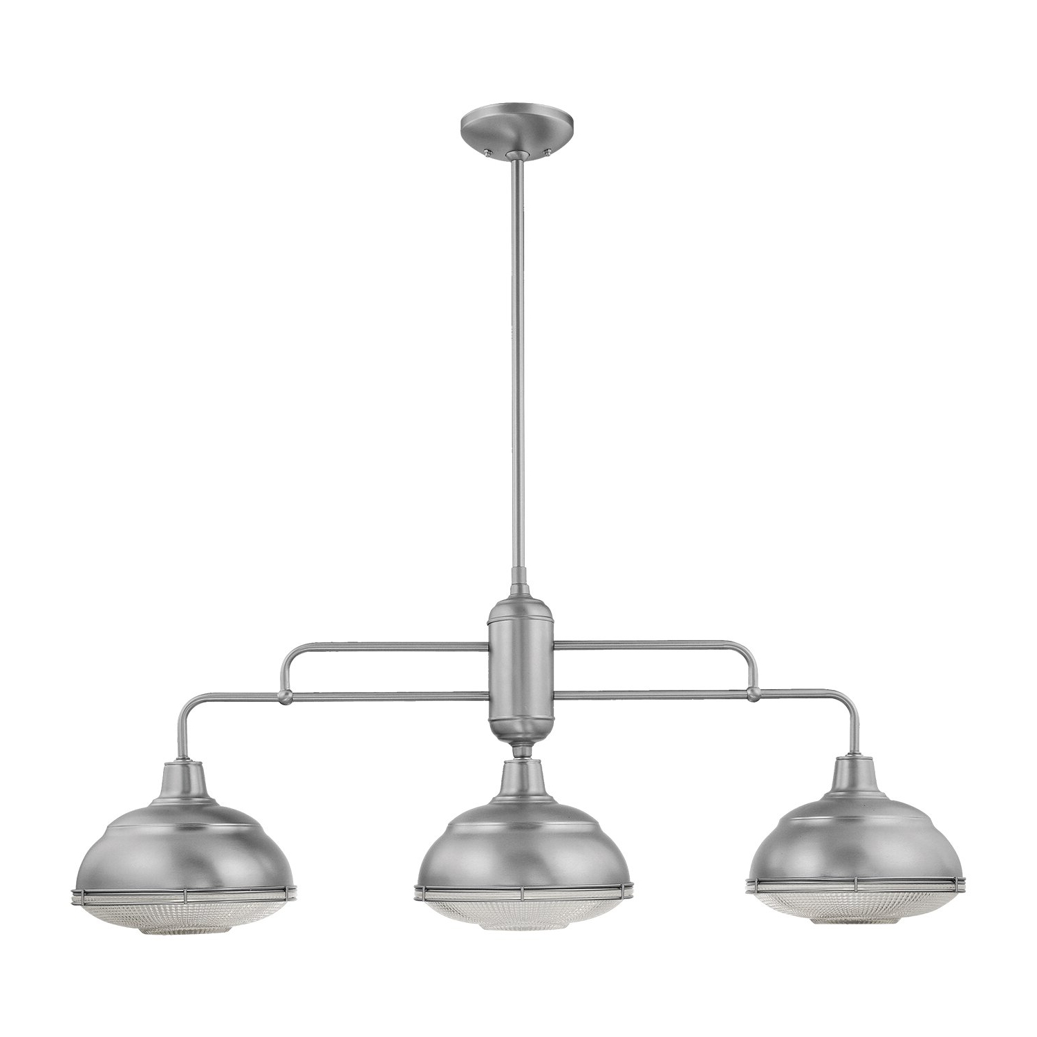 Martinique 3 Light Kitchen Island Dome Pendants Within 2019 Bruges 3 Light Kitchen Island Dome Pendant (View 12 of 25)