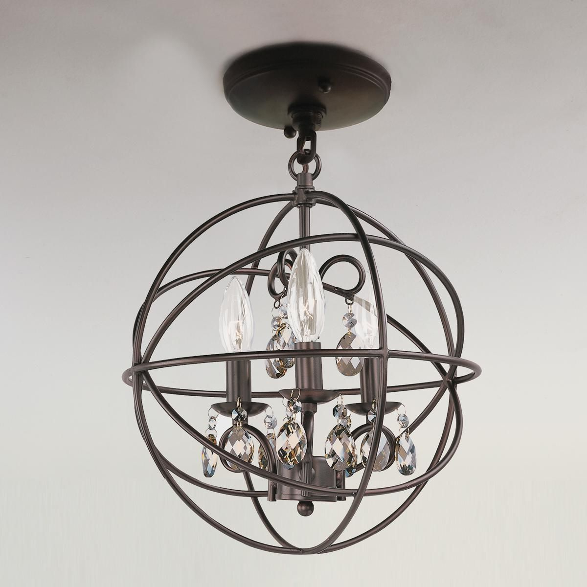 Master With Regard To Most Recently Released La Sarre 3 Light Globe Chandeliers (View 17 of 25)