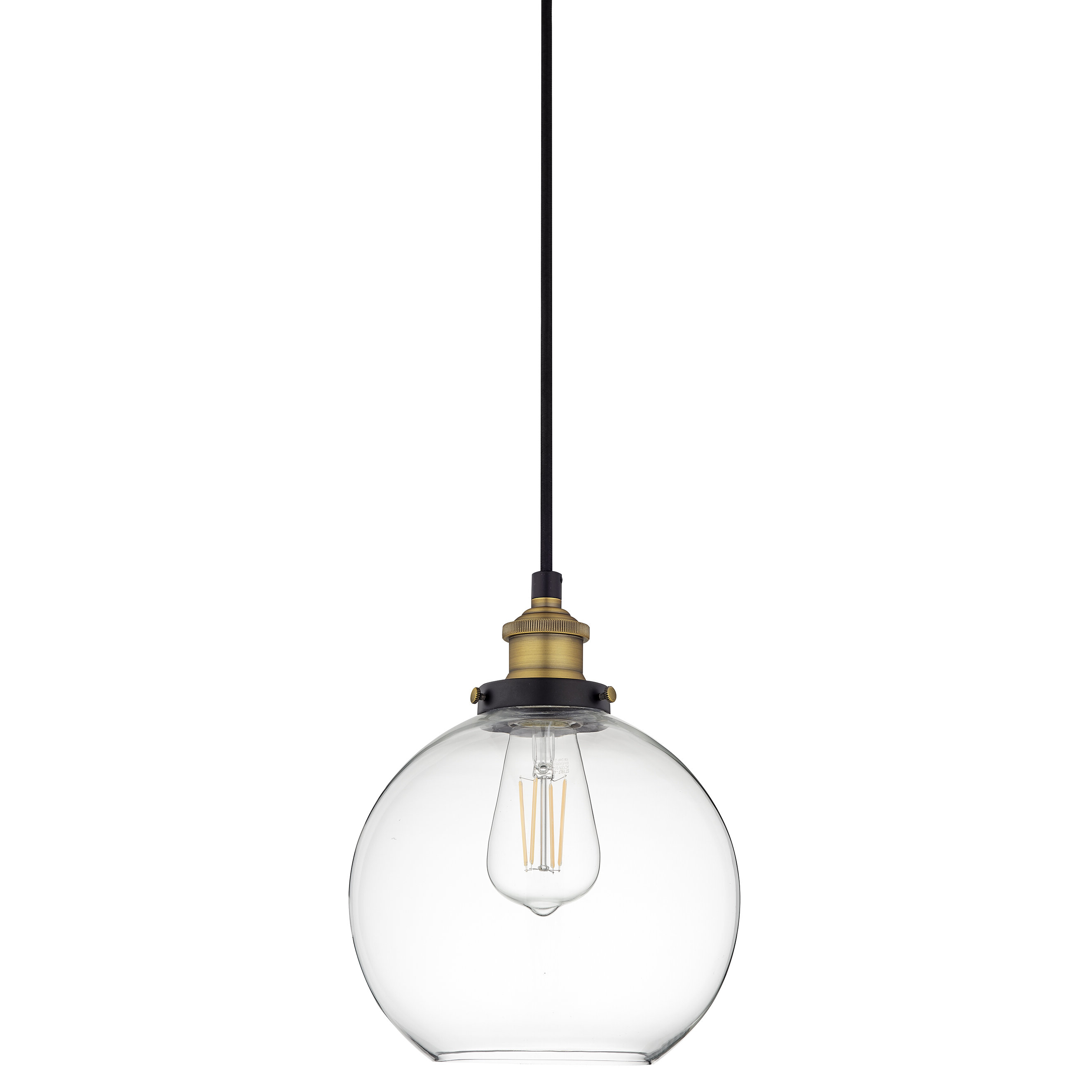 Mercury Row Bundy 1 Light Single Globe Pendant For Popular Bautista 1 Light Single Globe Pendants (View 12 of 25)