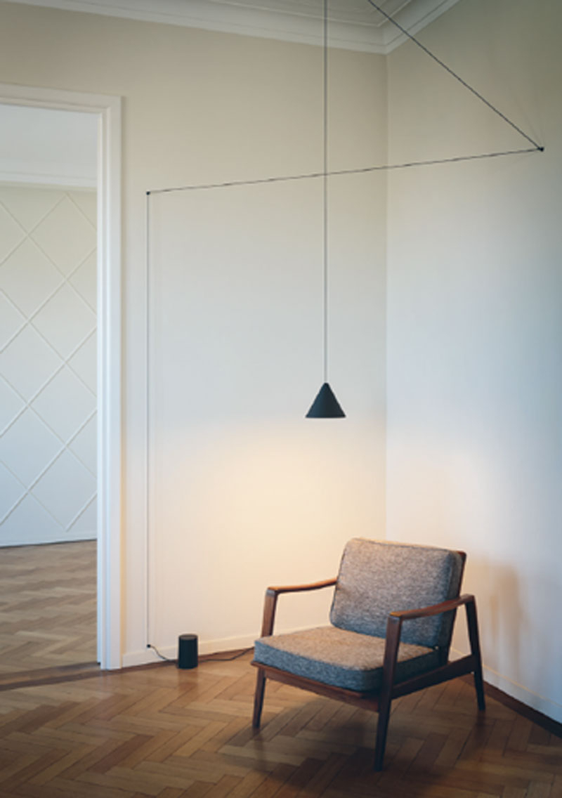 Moris 1 Light Cone Pendants Pertaining To Newest Installation Gallery (View 9 of 25)