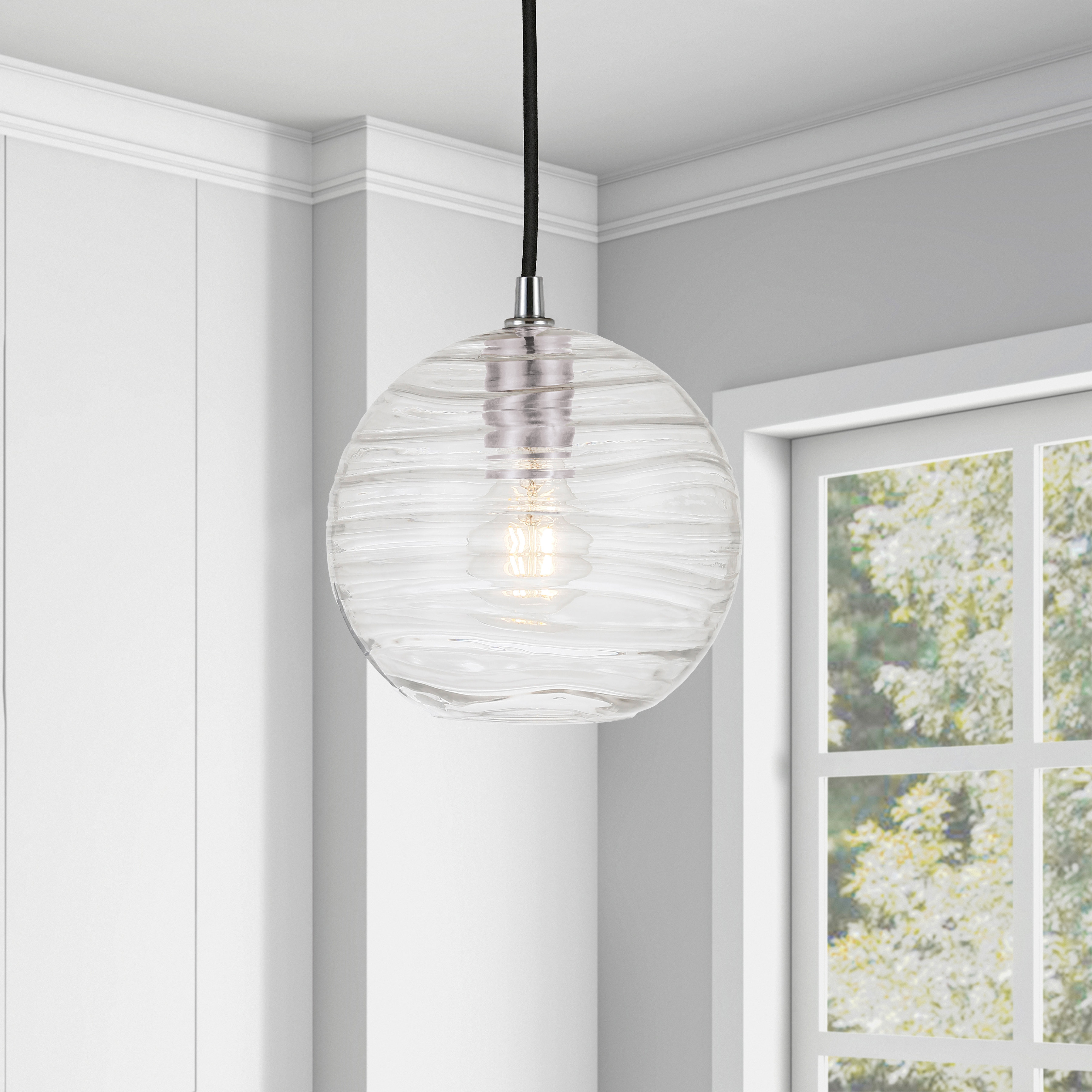 Most Current Aaru 1 Light Single Globe Pendant Inside Prange 1 Light Single Globe Pendants (View 3 of 25)