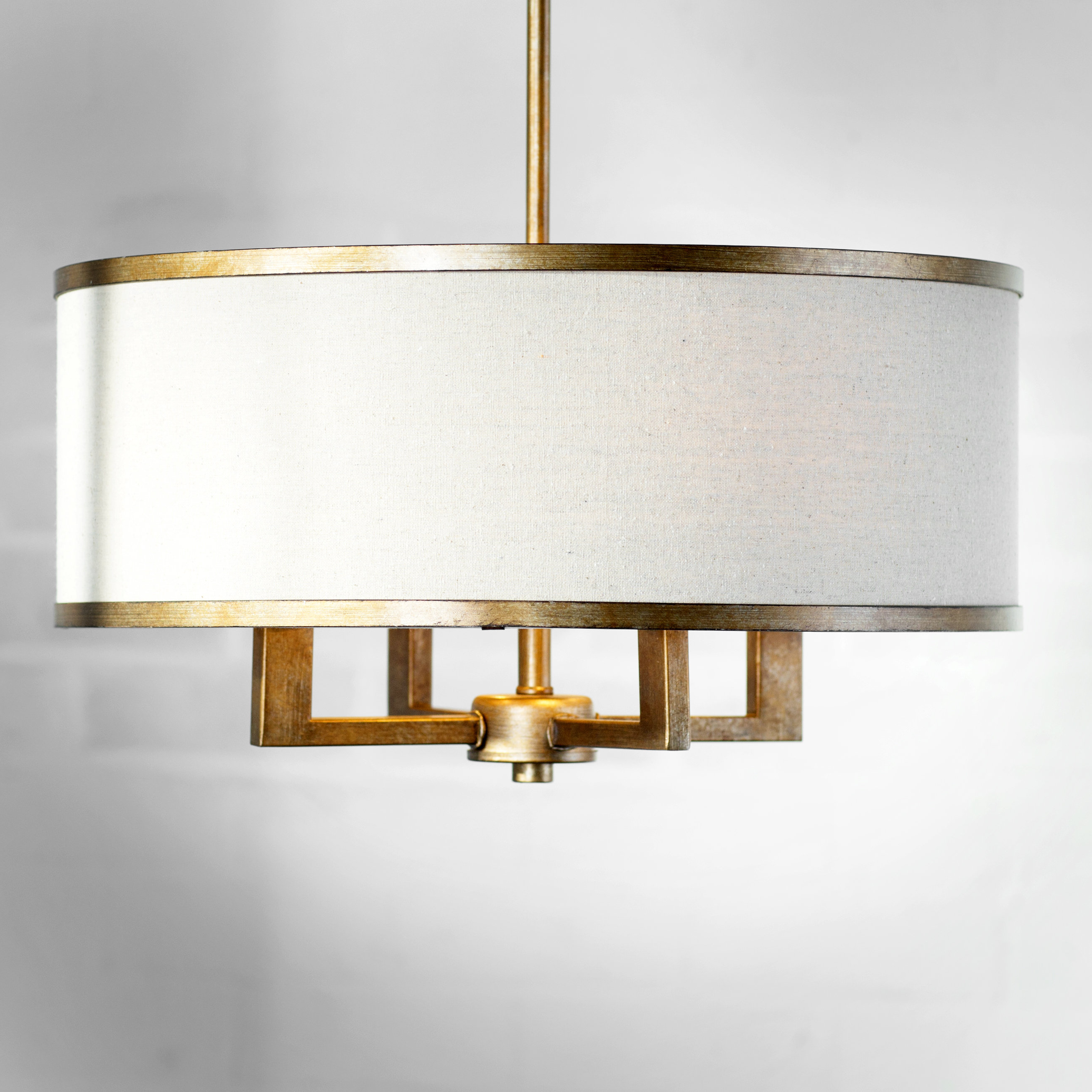 Most Current Breithaup 4-Light Drum Chandelier for Breithaup 4-Light Drum Chandeliers