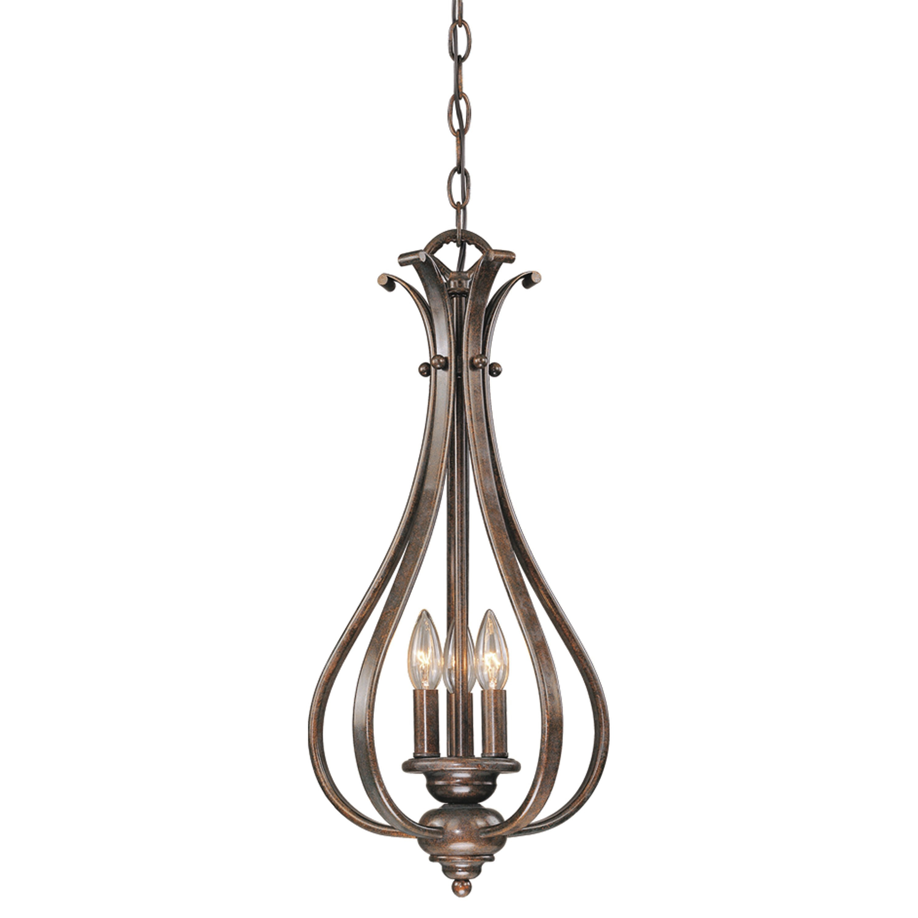 Most Current Chauvin 3 Light Lantern Geometric Pendants With Van Horne 3 Light Teardrop Pendant (View 14 of 25)