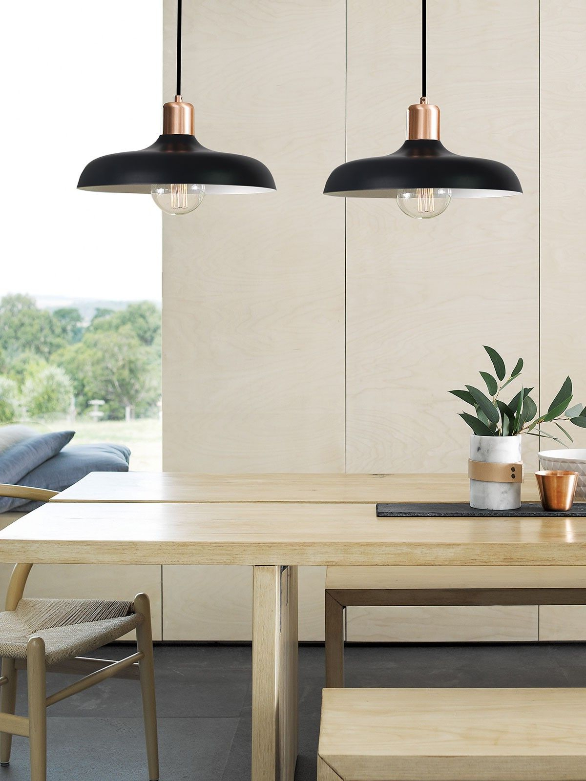 Most Current Croft 1 Light Pendant In Brushed Copper/black (View 16 of 25)