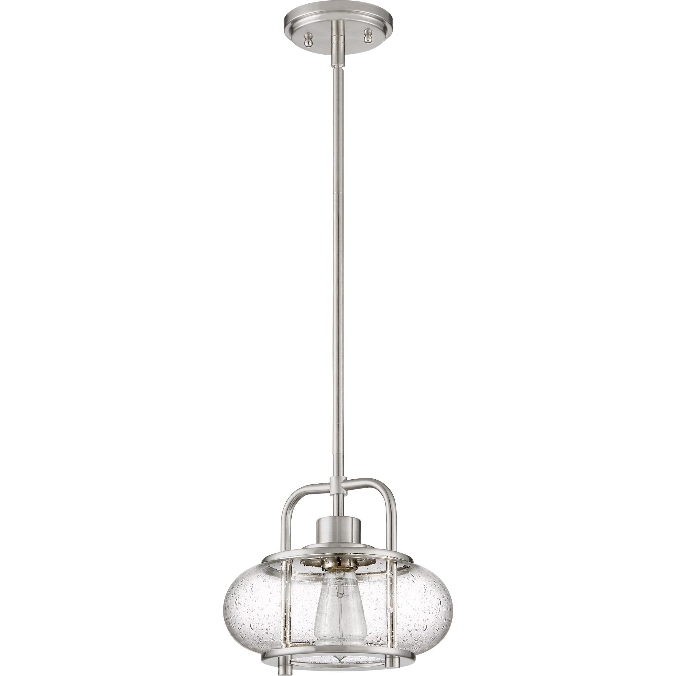 Most Current Erico 1 Light Single Bell Pendants Regarding Braxton 1 Light Single Schoolhouse Pendant (View 20 of 25)