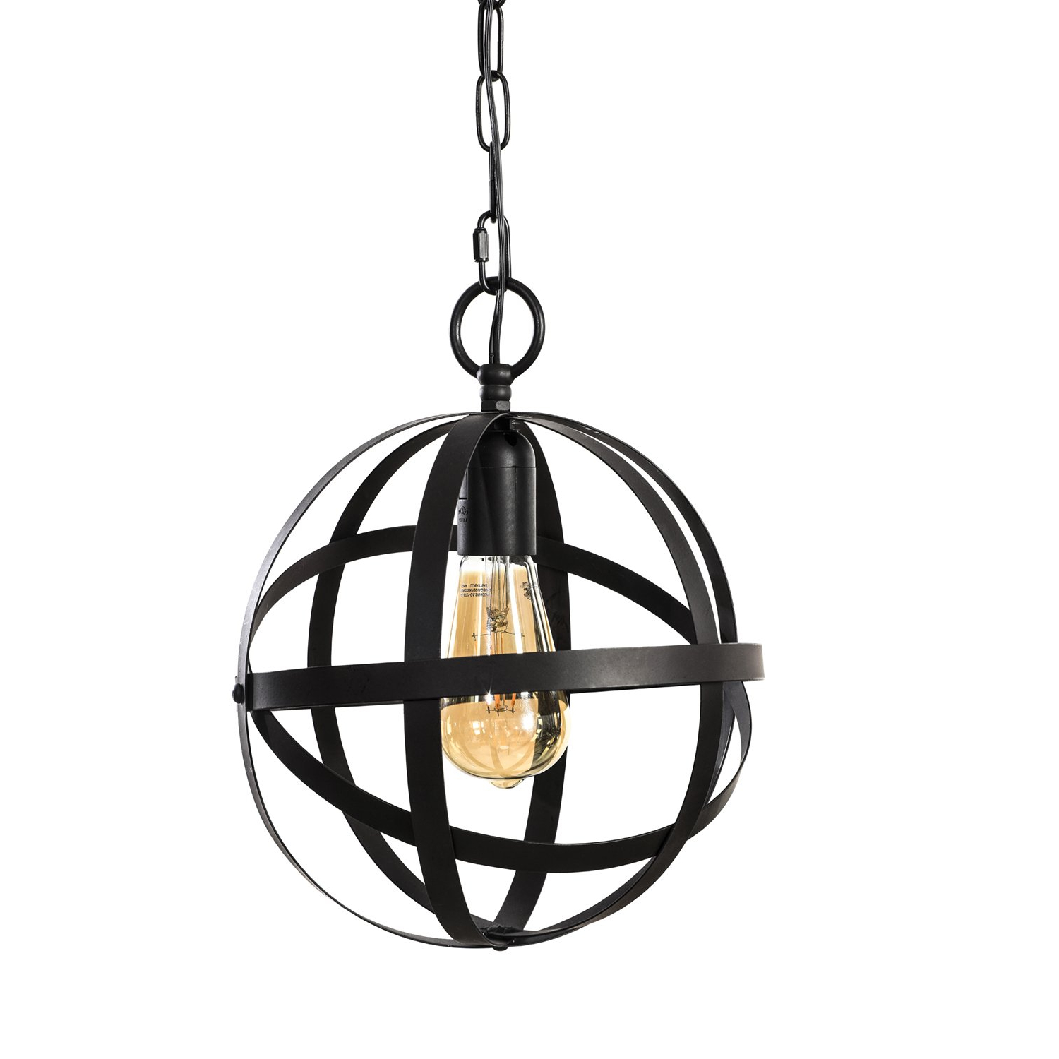 Most Current Hendry 4 Light Globe Chandeliers Intended For Lit Path Pendant Lighting Fixture For Kitchen And Dining Room, Hanging  Lighting Fixture, E26 Medium Base, Metal Construction With Oil Rubbed  Bronze (View 19 of 25)