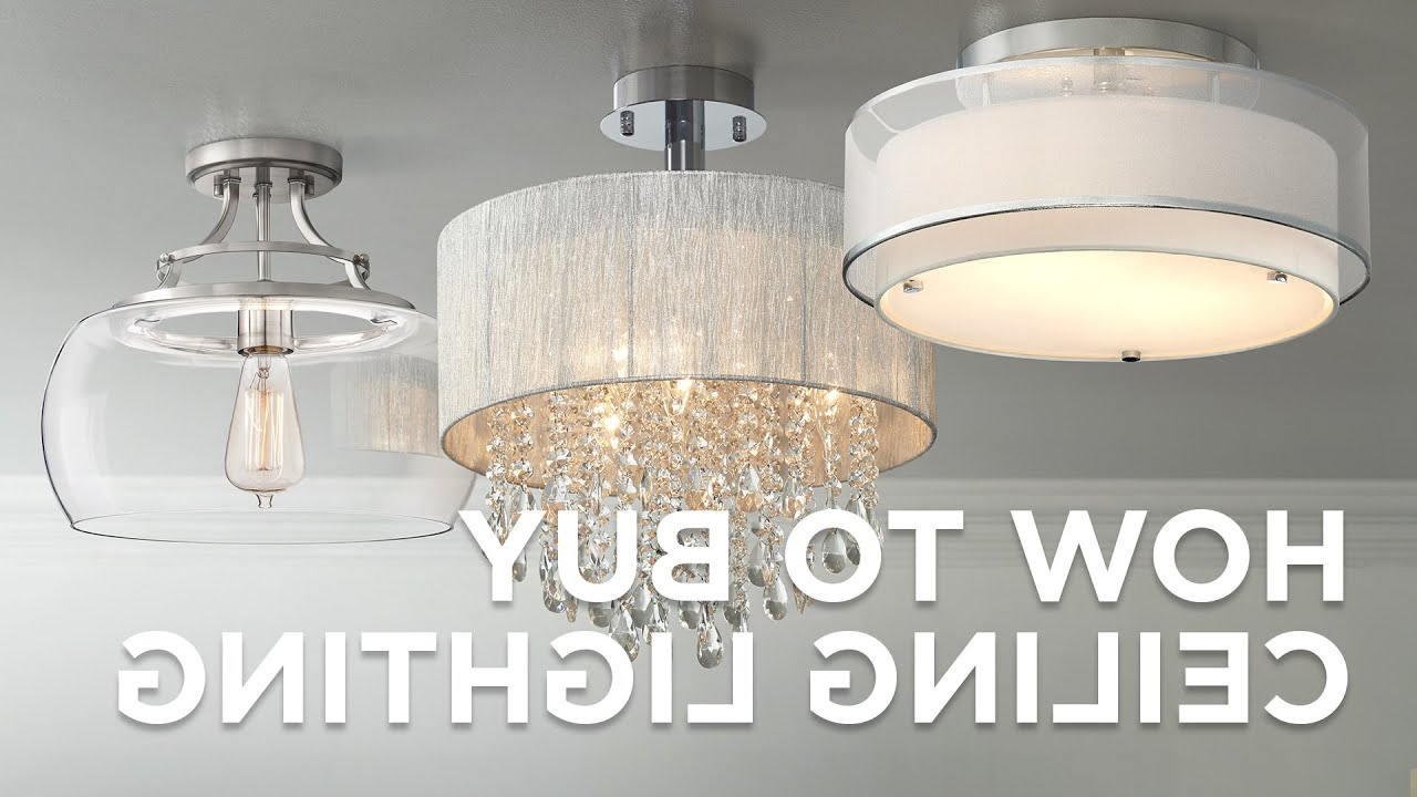 Most Current How To Buy Ceiling Lighting – Buying Guide Throughout Dailey 4 Light Drum Chandeliers (View 20 of 25)