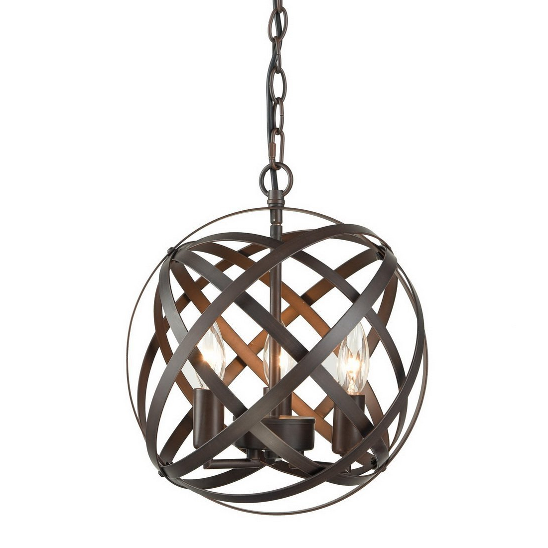 Most Current Mcinerney Cage 3 Light Globe Chandelier Inside Shipststour 3 Light Globe Chandeliers (View 13 of 25)