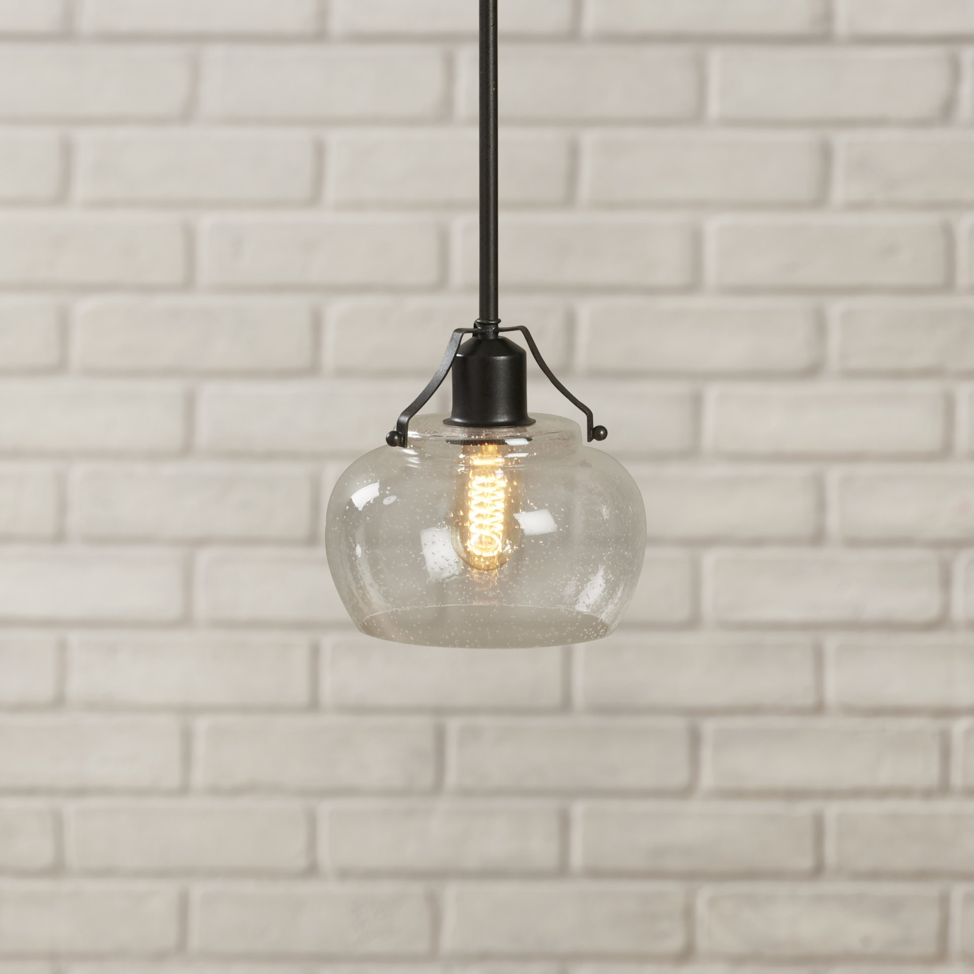 Most Current Monadnock 1 Light Single Dome Pendants Intended For Abordale 1 Light Single Dome Pendant (View 10 of 25)