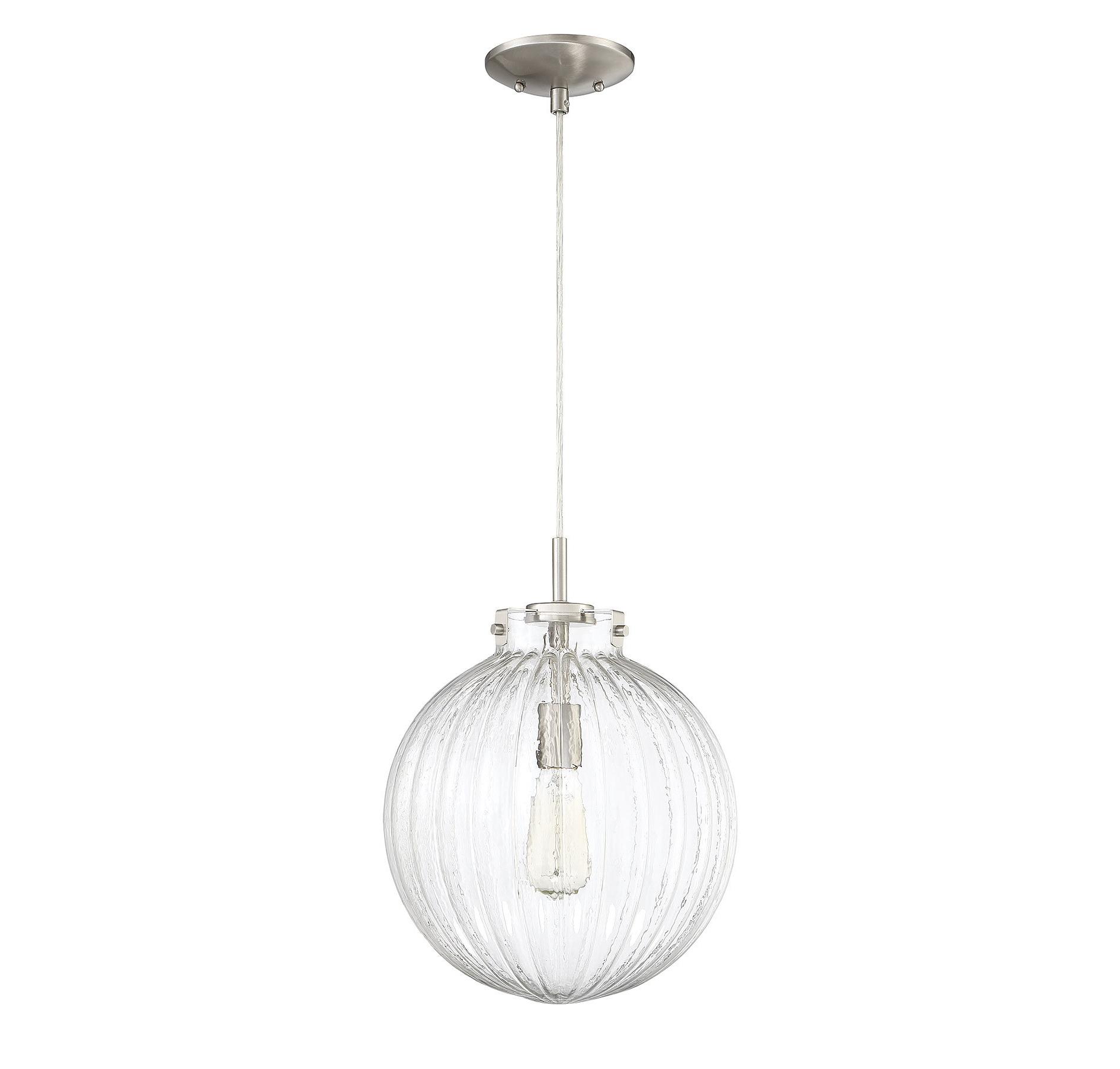 Most Current Nevels 1 Light Single Globe Pendant In Cayden 1 Light Single Globe Pendants (View 17 of 25)