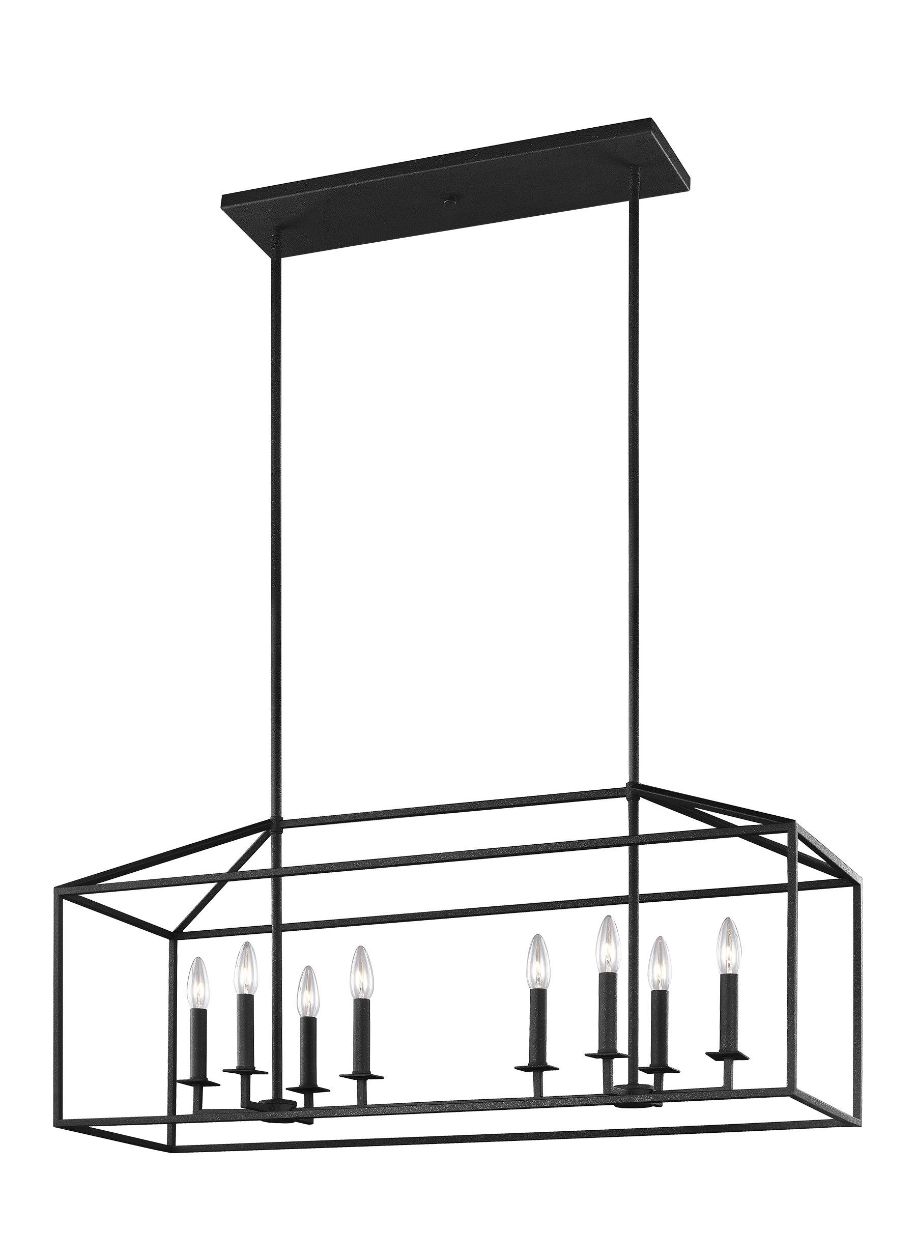 Most Current Odie 8 Light Lantern Square / Rectangle Pendants For Odie 8 Light Kitchen Island Square / Rectangle Pendant (View 9 of 25)